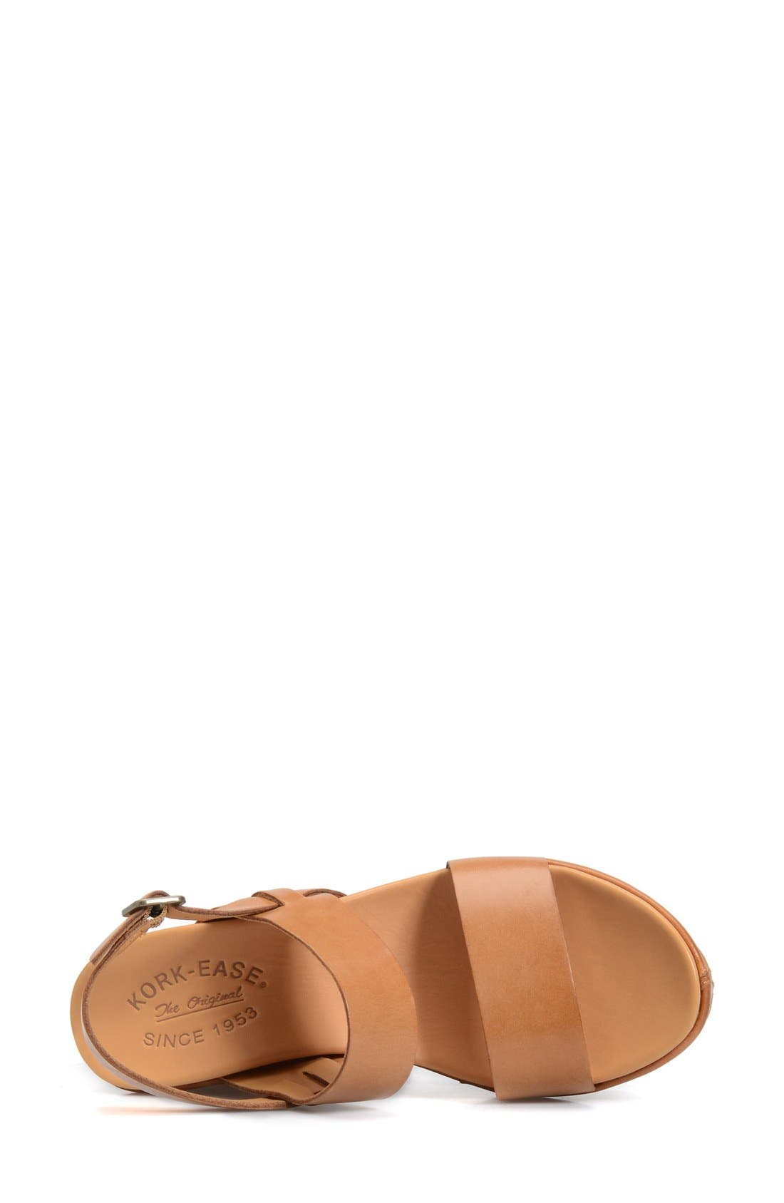 'Austin' Slingback Wedge Sandal,                             Alternate thumbnail 26, color,