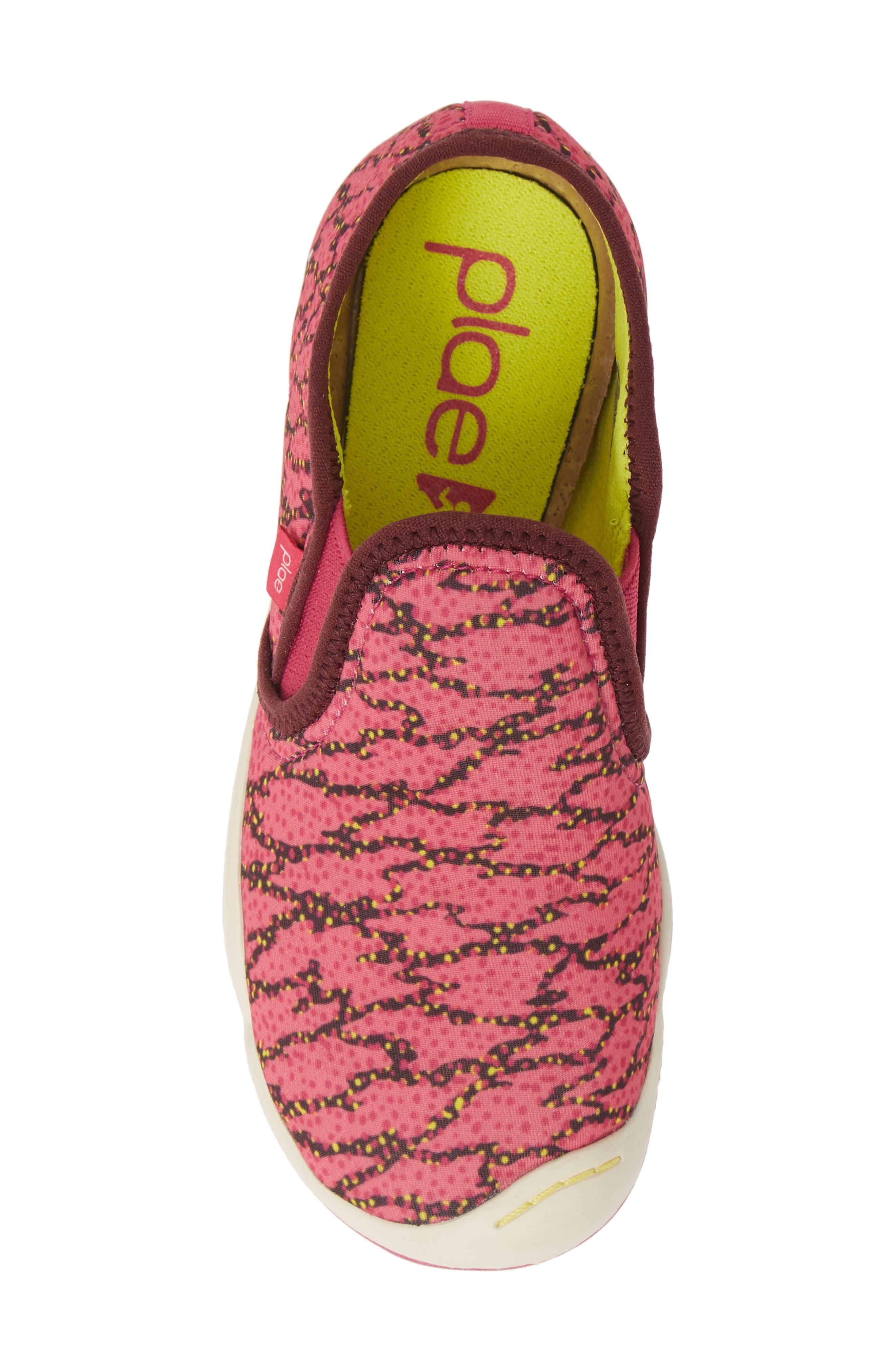 PLAE,                             Migi Slip-On Sneaker,                             Alternate thumbnail 5, color,                             ELECTRIC FUCHSIA SURGE