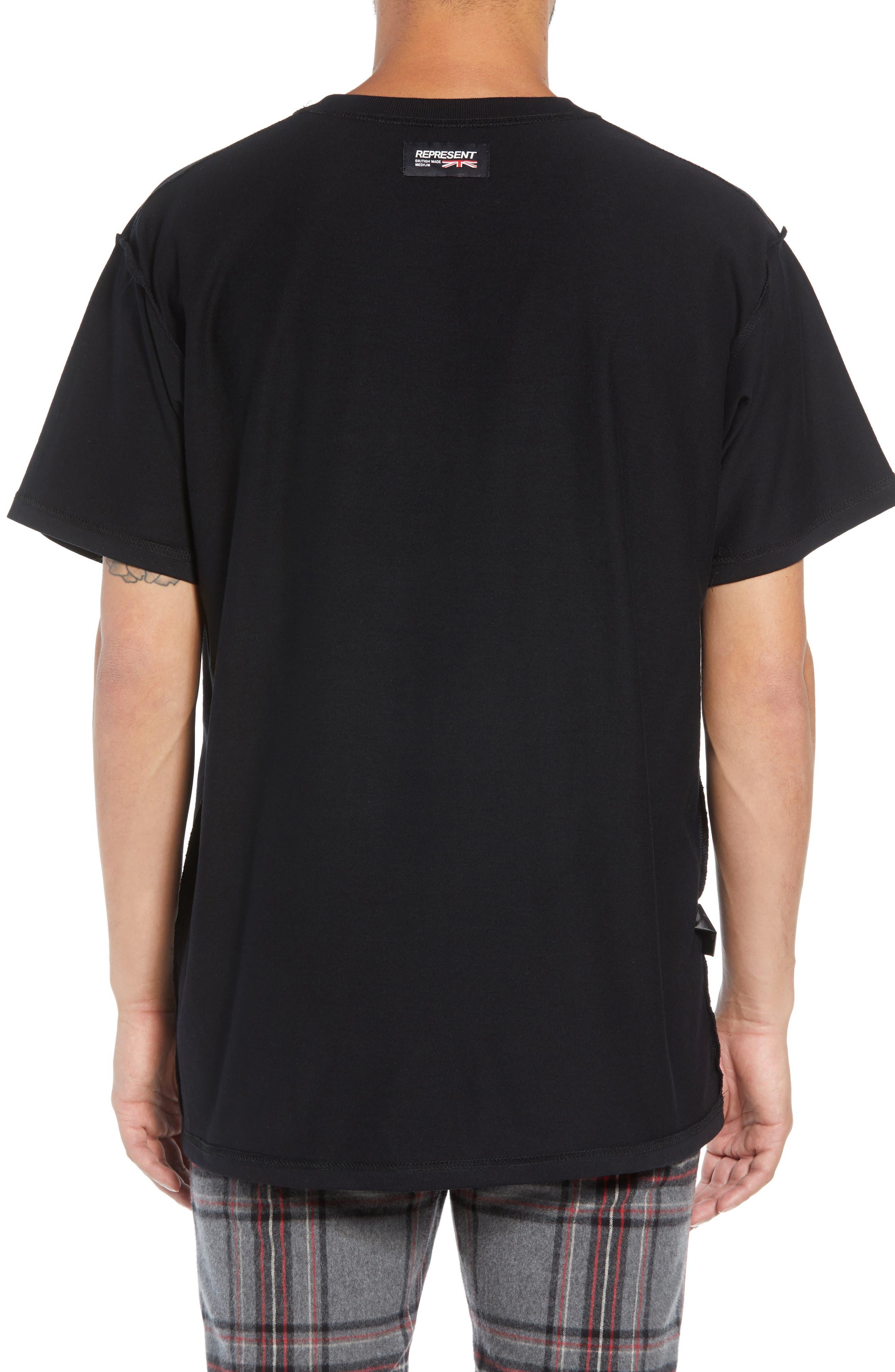 George/Dragon Graphic T-Shirt,                             Alternate thumbnail 2, color,                             BLACK