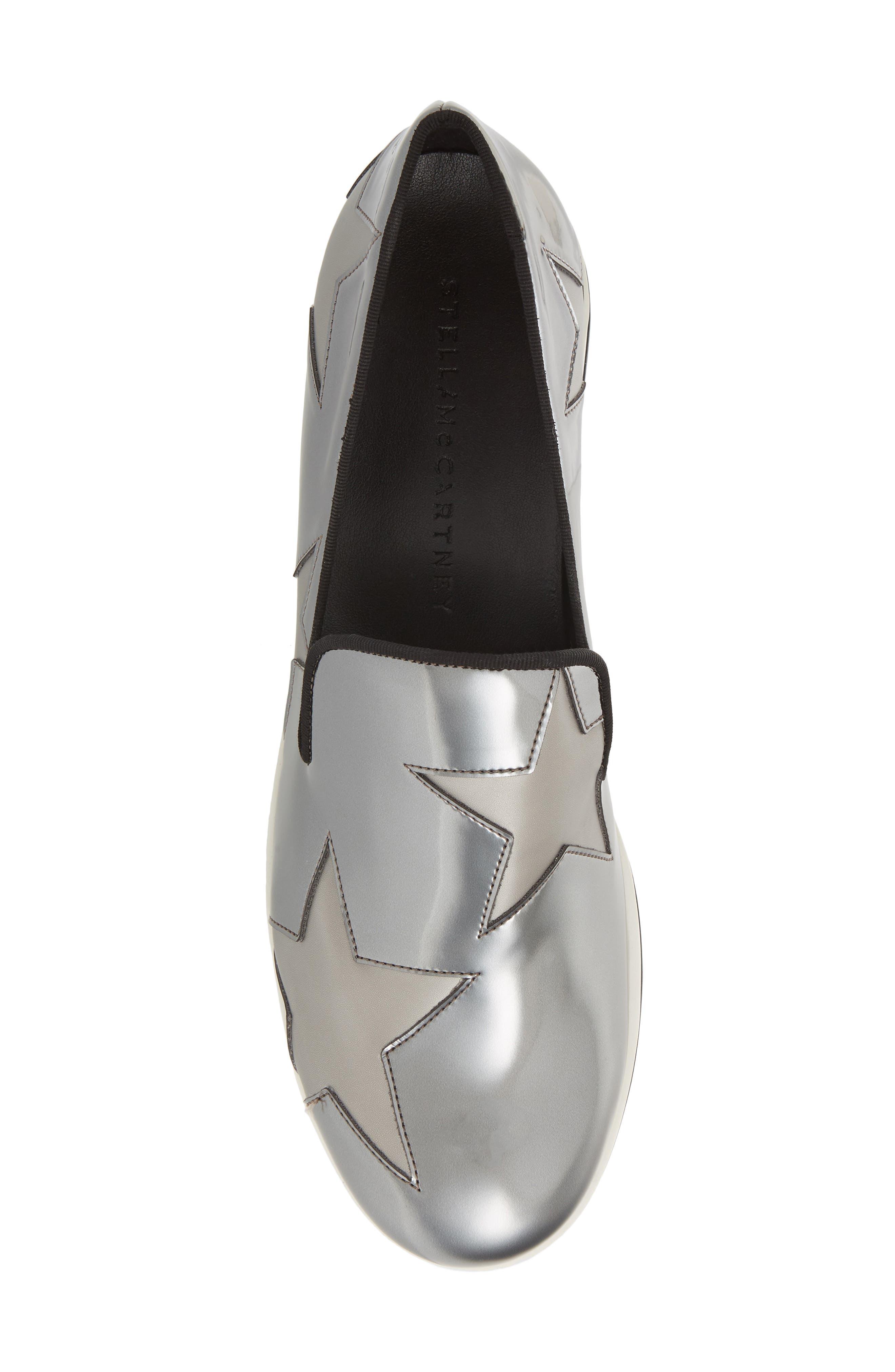 Binx Stars Platform Sneaker,                             Alternate thumbnail 5, color,                             ZINC