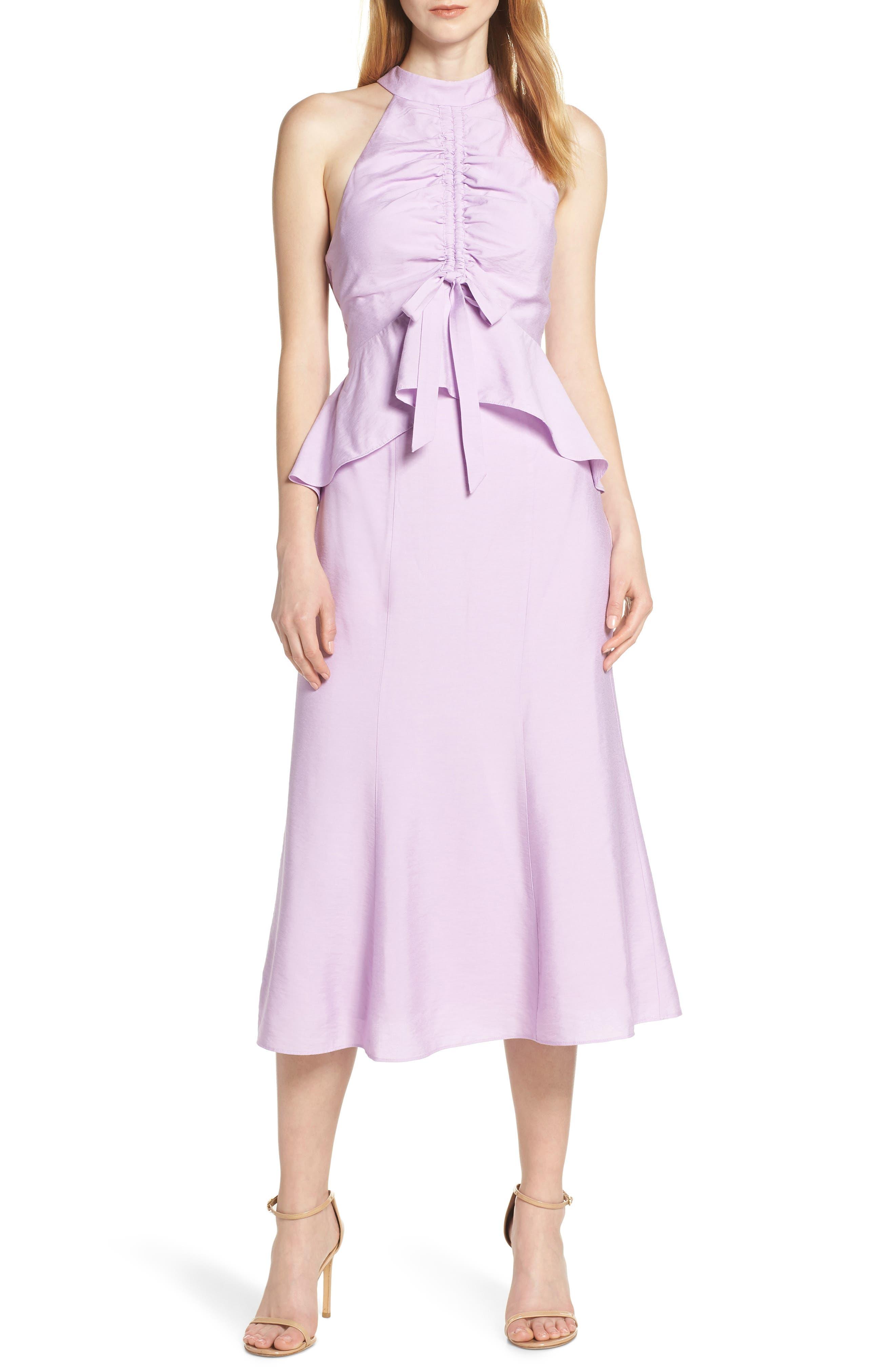 Keepsake The Label Luminous Midi Dress, Purple