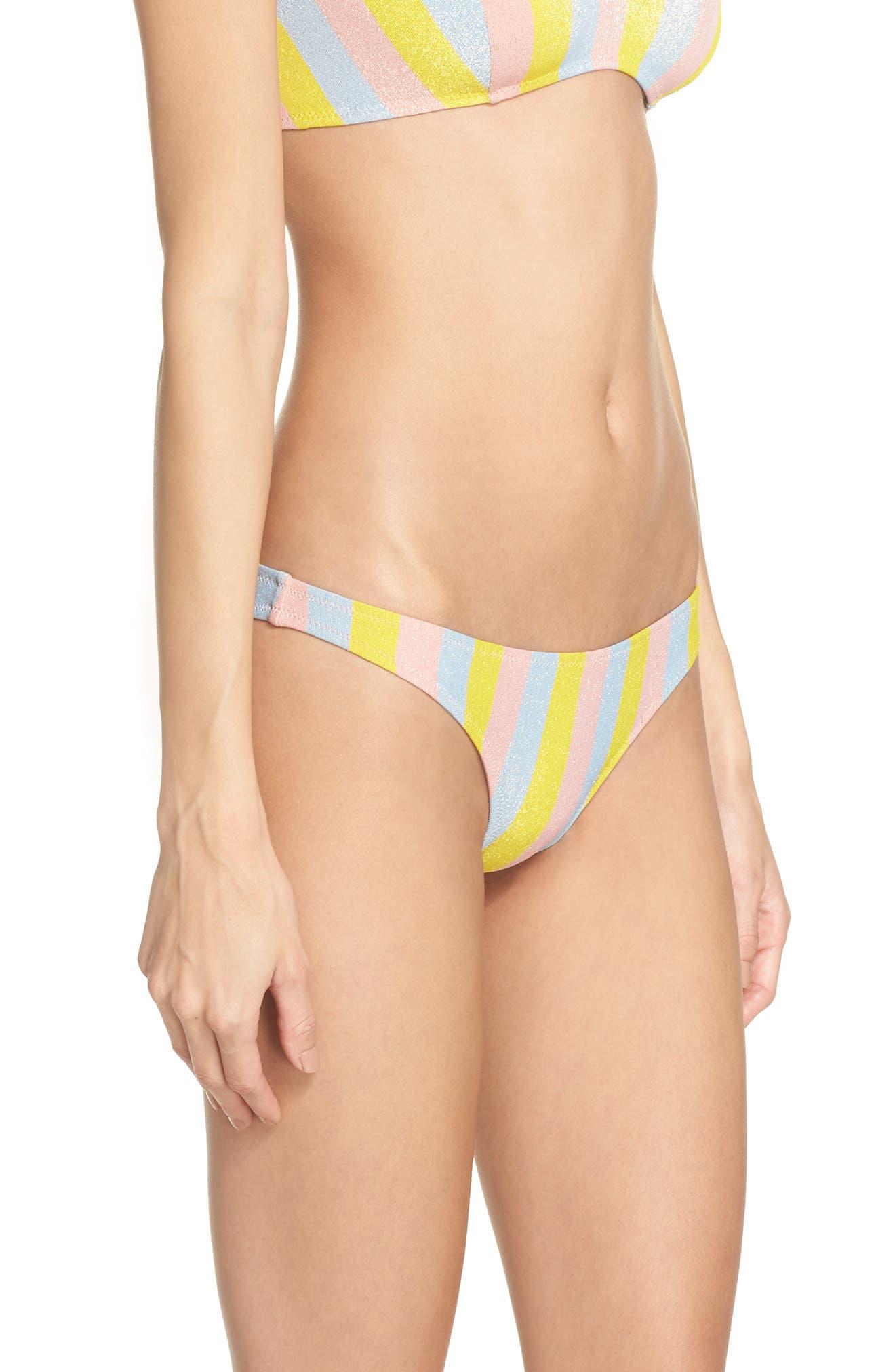 The Rachel Bikini Bottoms,                             Alternate thumbnail 3, color,                             750
