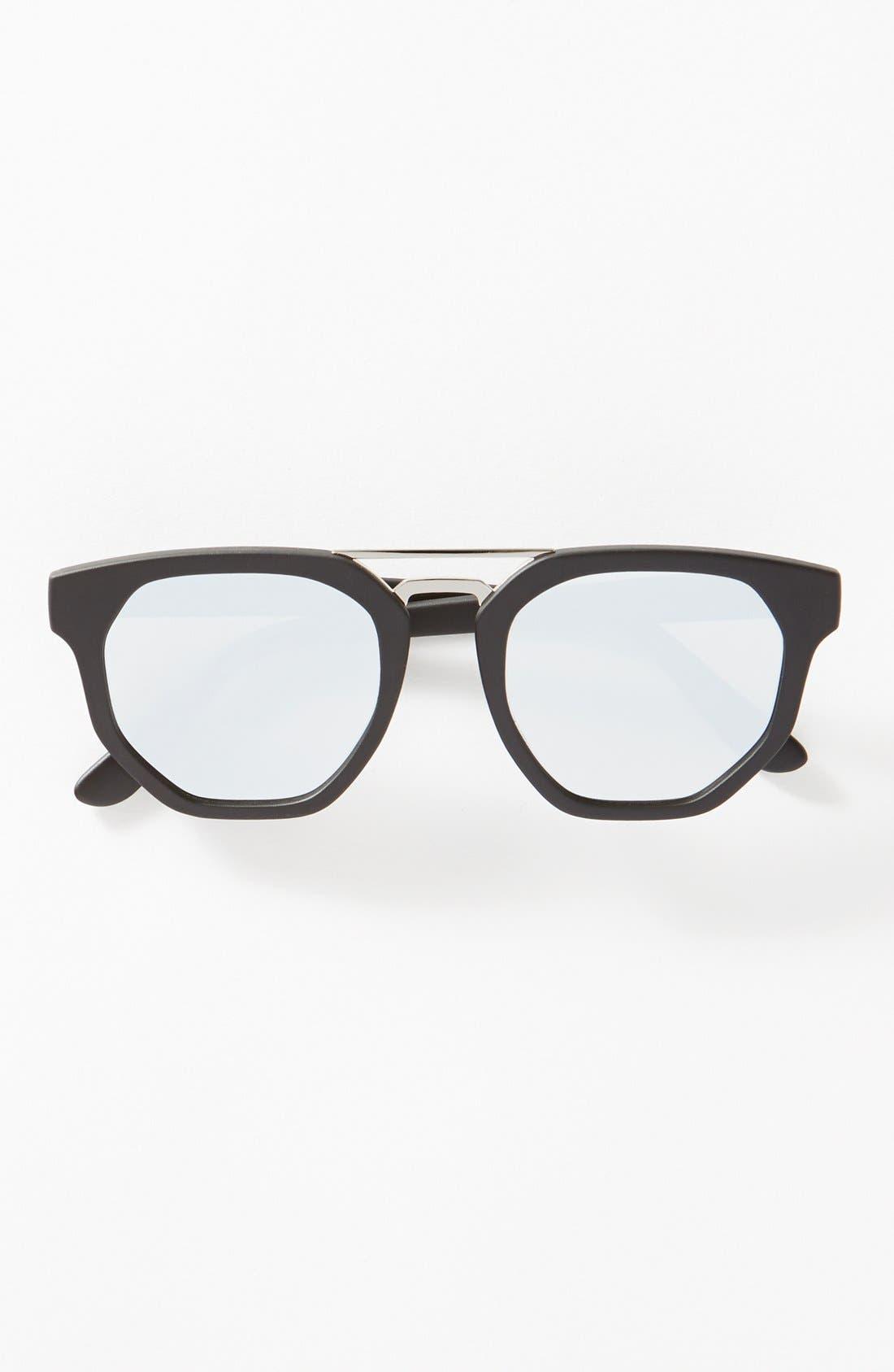 'Thunderdome' 52mm Polarized Sunglasses,                             Alternate thumbnail 3, color,                             001