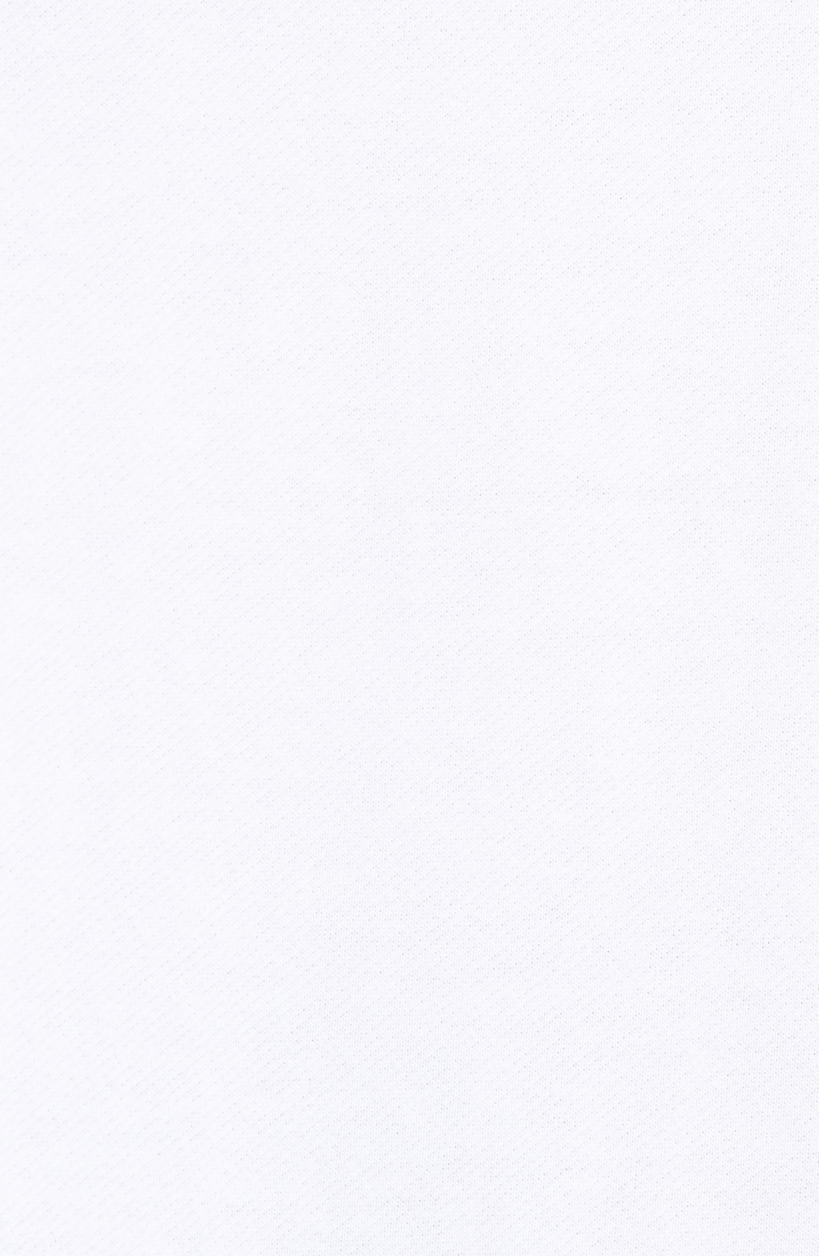 JORDAN,                             Wings Light Short Sleeve Sweatshirt,                             Alternate thumbnail 5, color,                             WHITE/ BLACK