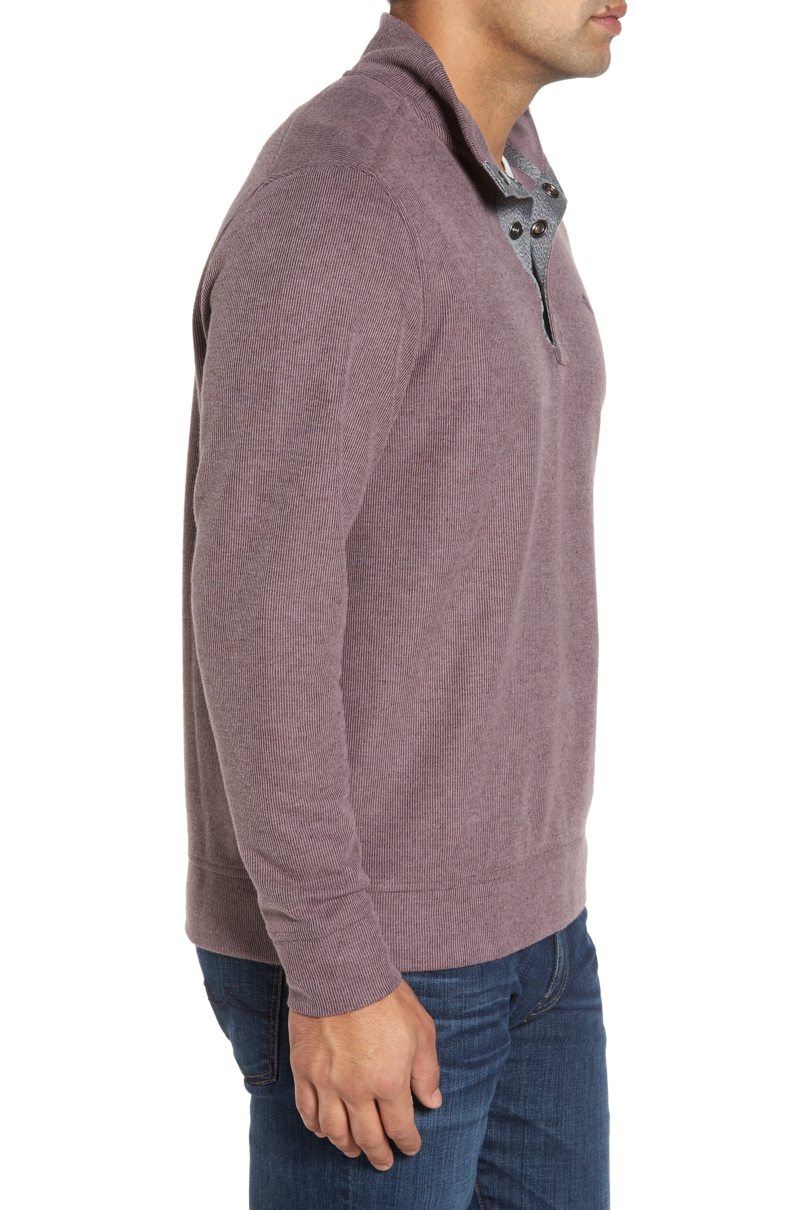 Cold Springs Snap Mock Neck Sweater,                             Alternate thumbnail 18, color,