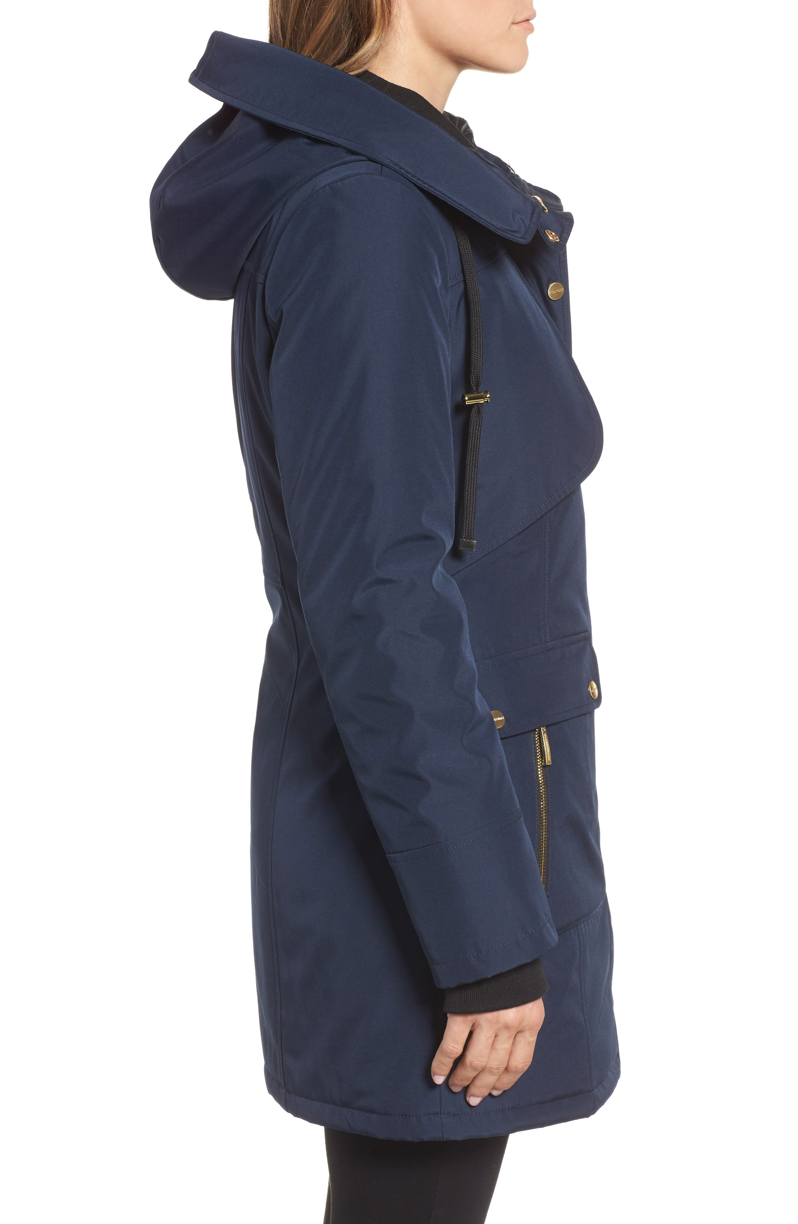 Quilted Techno Parka,                             Alternate thumbnail 6, color,