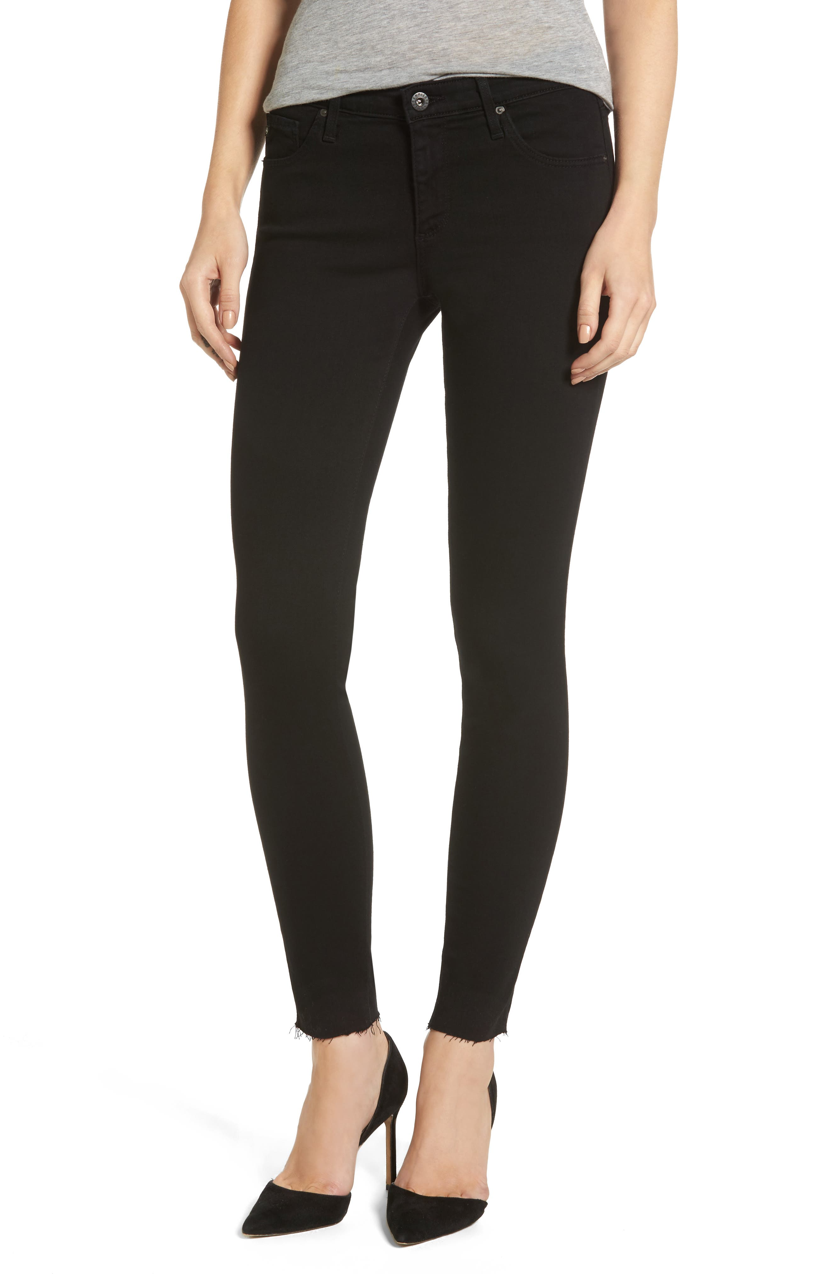 The Legging Ripped Super Skinny Jeans,                             Main thumbnail 1, color,                             006
