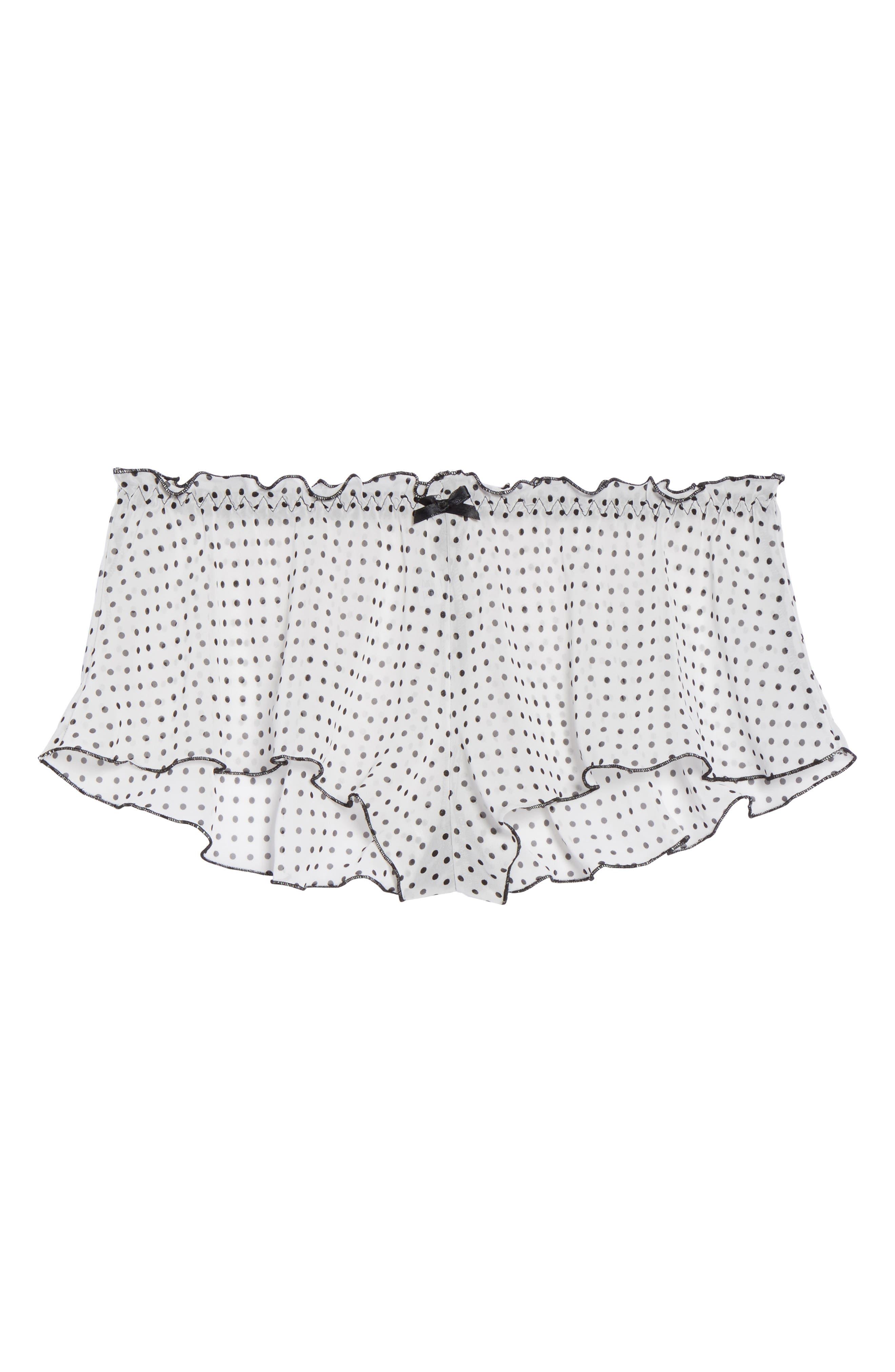 Spot On Chiffon Tap Shorts,                             Alternate thumbnail 5, color,                             102