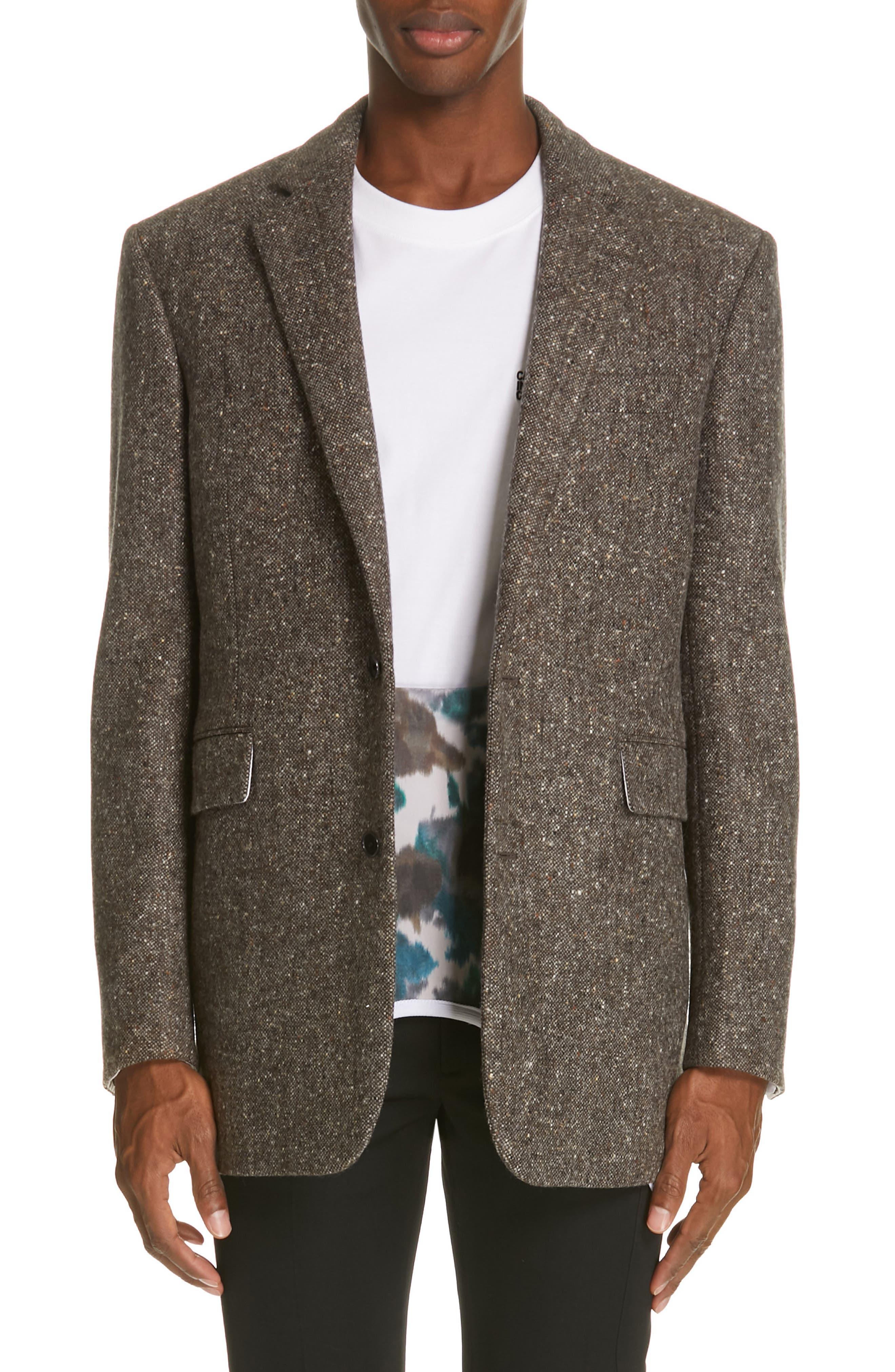 Tweed Wool Jacket, Main, color, 030