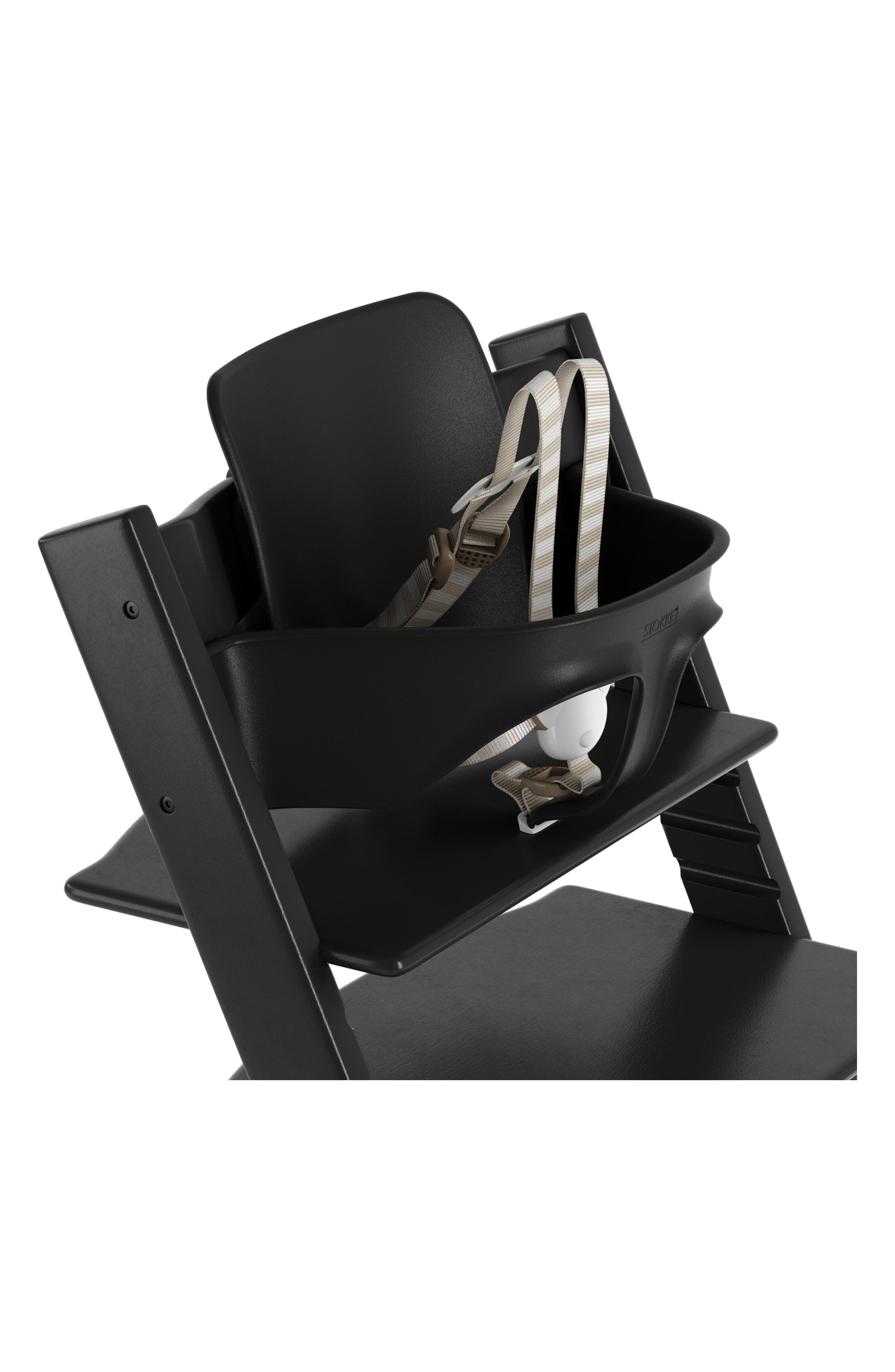 STOKKE,                             Baby Set for Tripp Trapp<sup>®</sup> Chair,                             Main thumbnail 1, color,                             BLACK