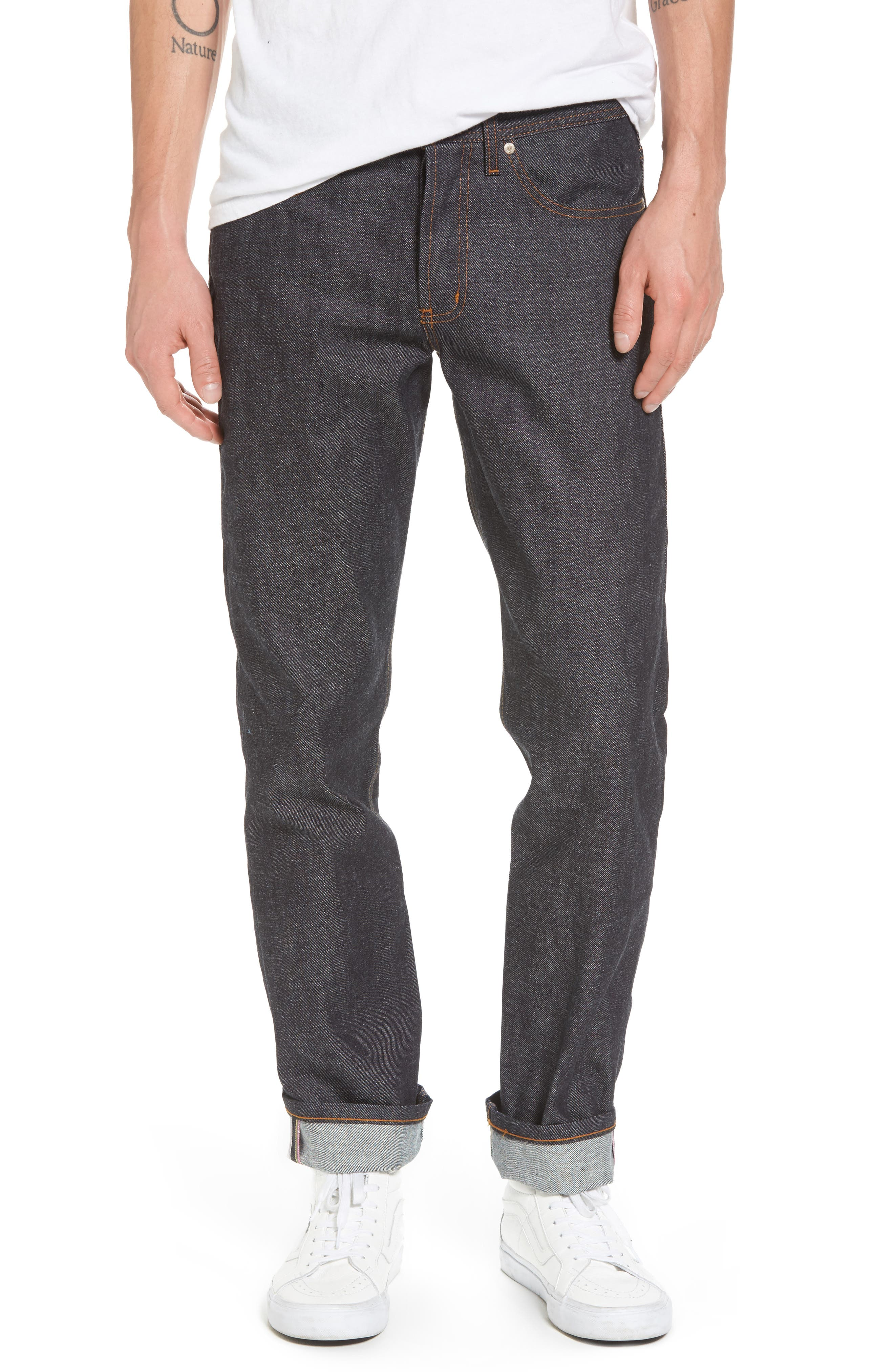 Weird Guy Slim Fit Jeans,                             Main thumbnail 1, color,                             401