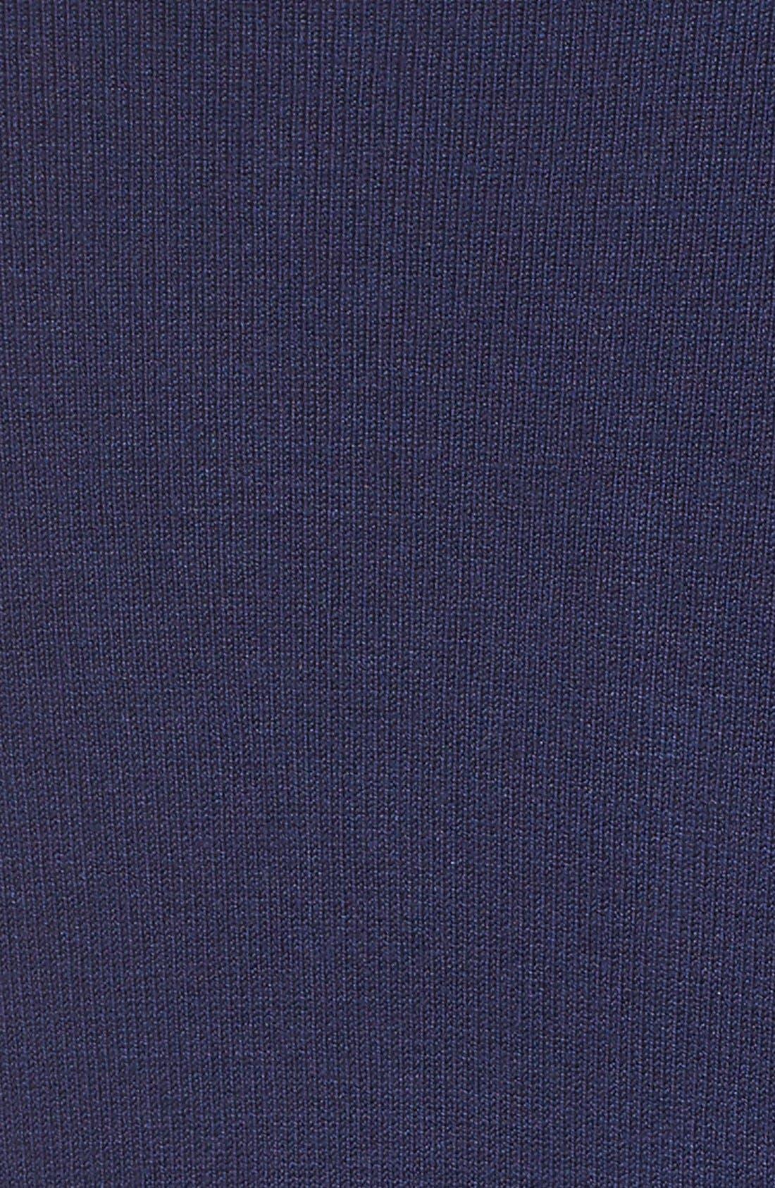 Knit Cardigan,                             Alternate thumbnail 5, color,                             NAVY