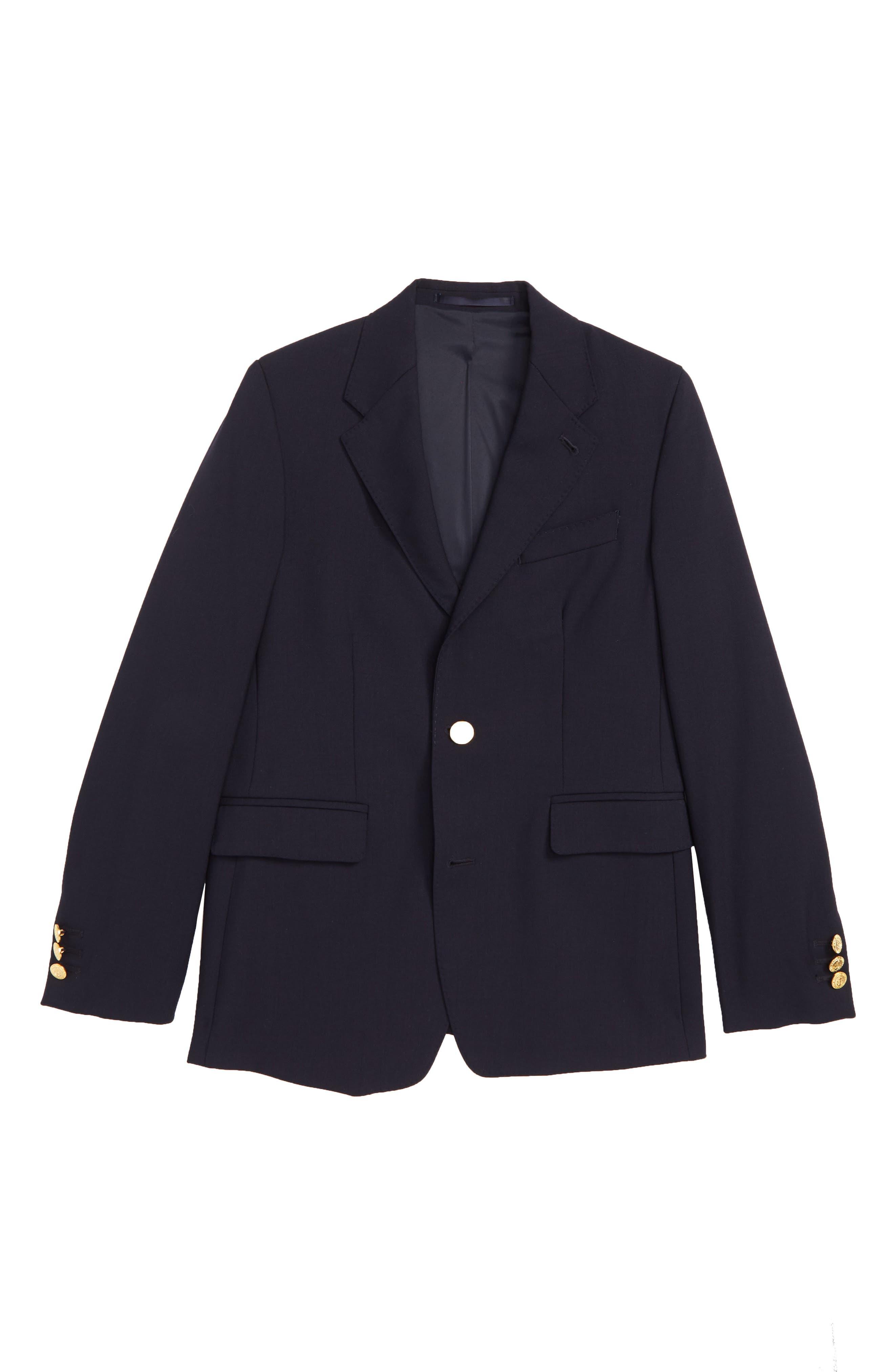 Boys Vineyard Vines Virgin Wool Blazer Size 14  Blue