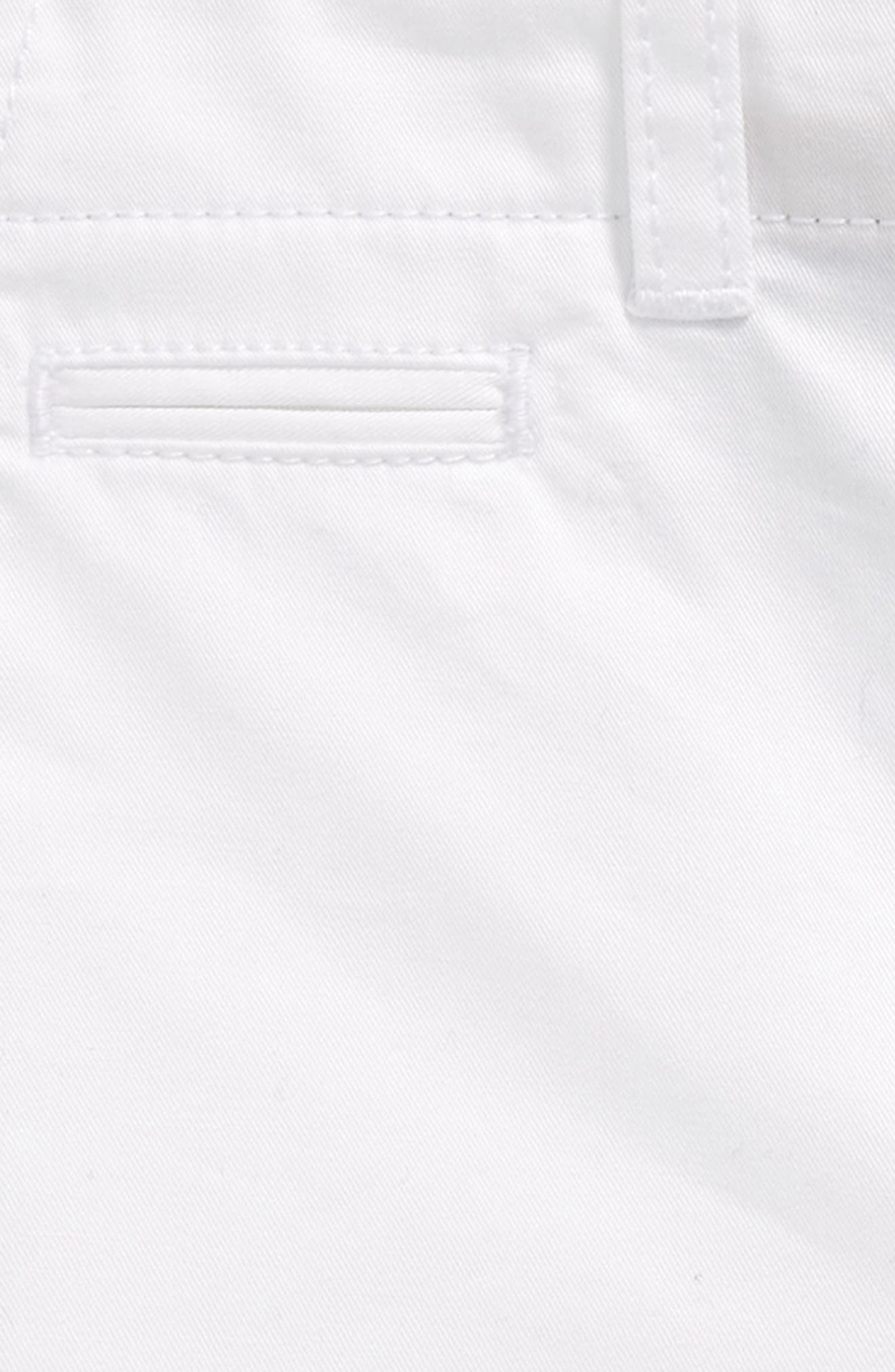 Tina Cotton Twill Shorts,                             Alternate thumbnail 2, color,                             100