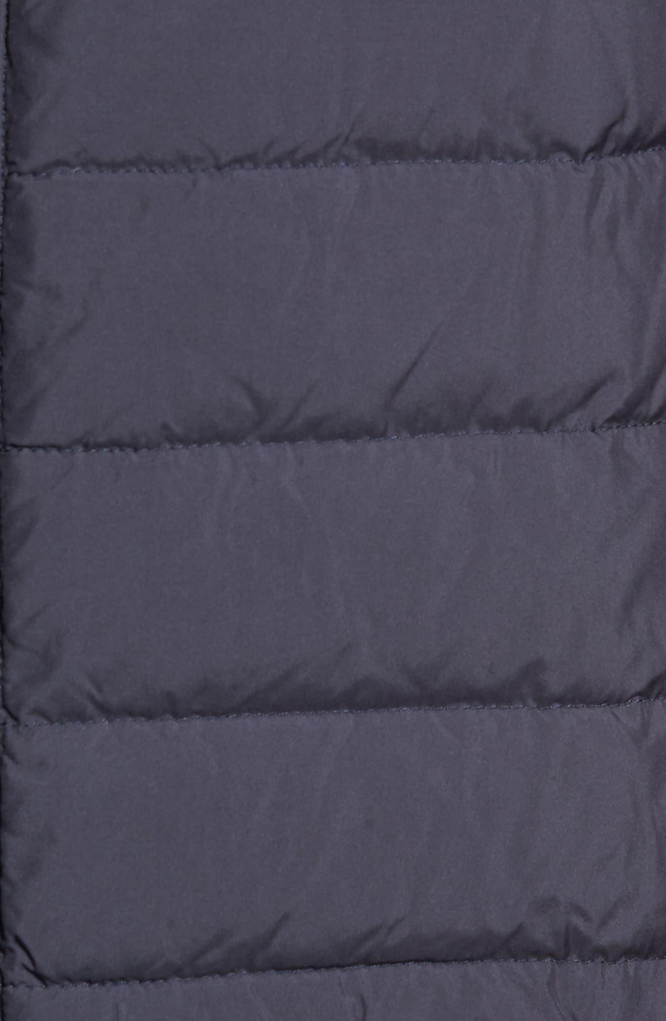 Crown Elite Channel Quilted Hybrid Vest,                             Alternate thumbnail 7, color,                             NAVY