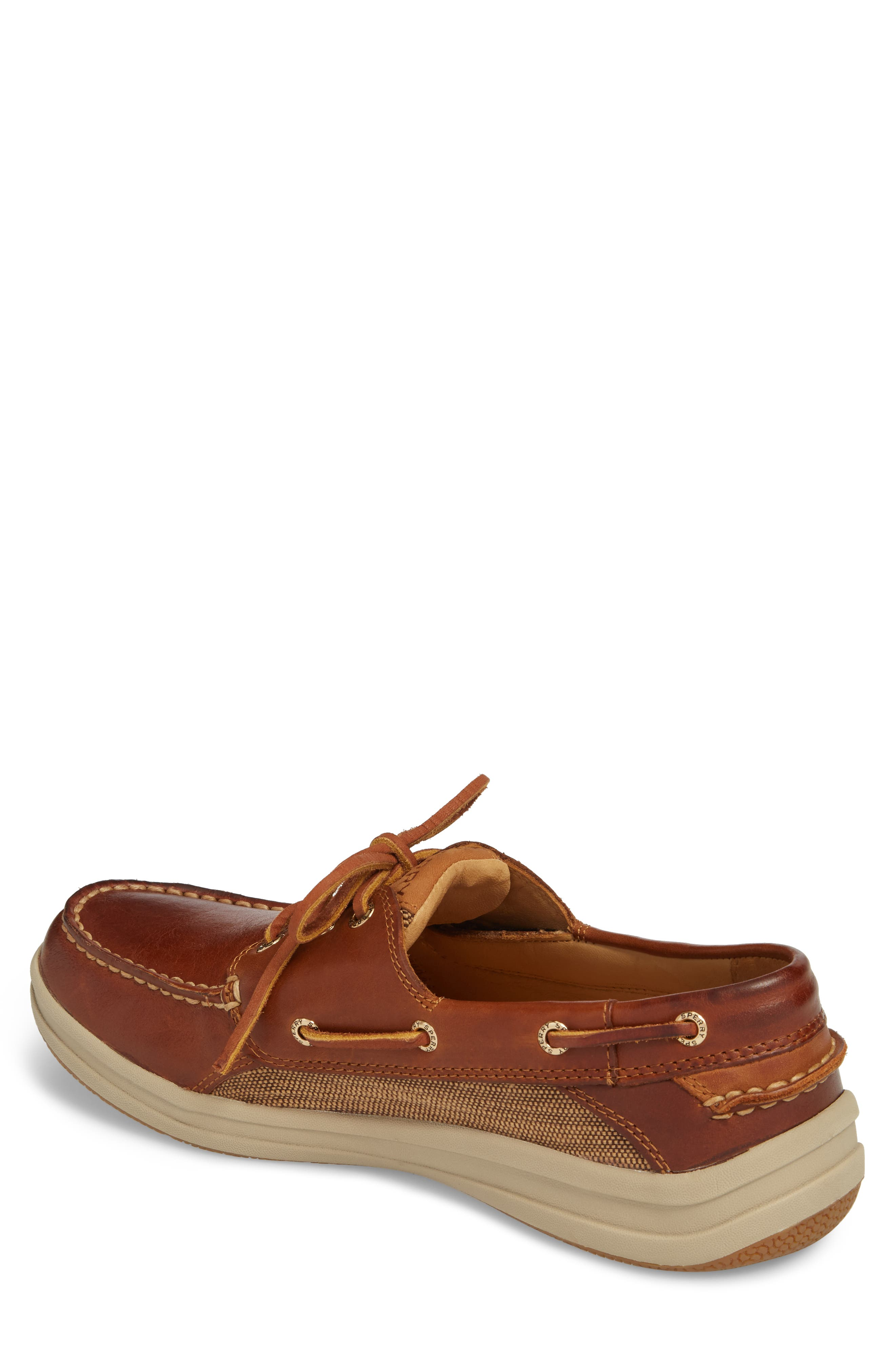 Gold Cup Gamefish Boat Shoe,                             Alternate thumbnail 2, color,                             BROWN LEATHER