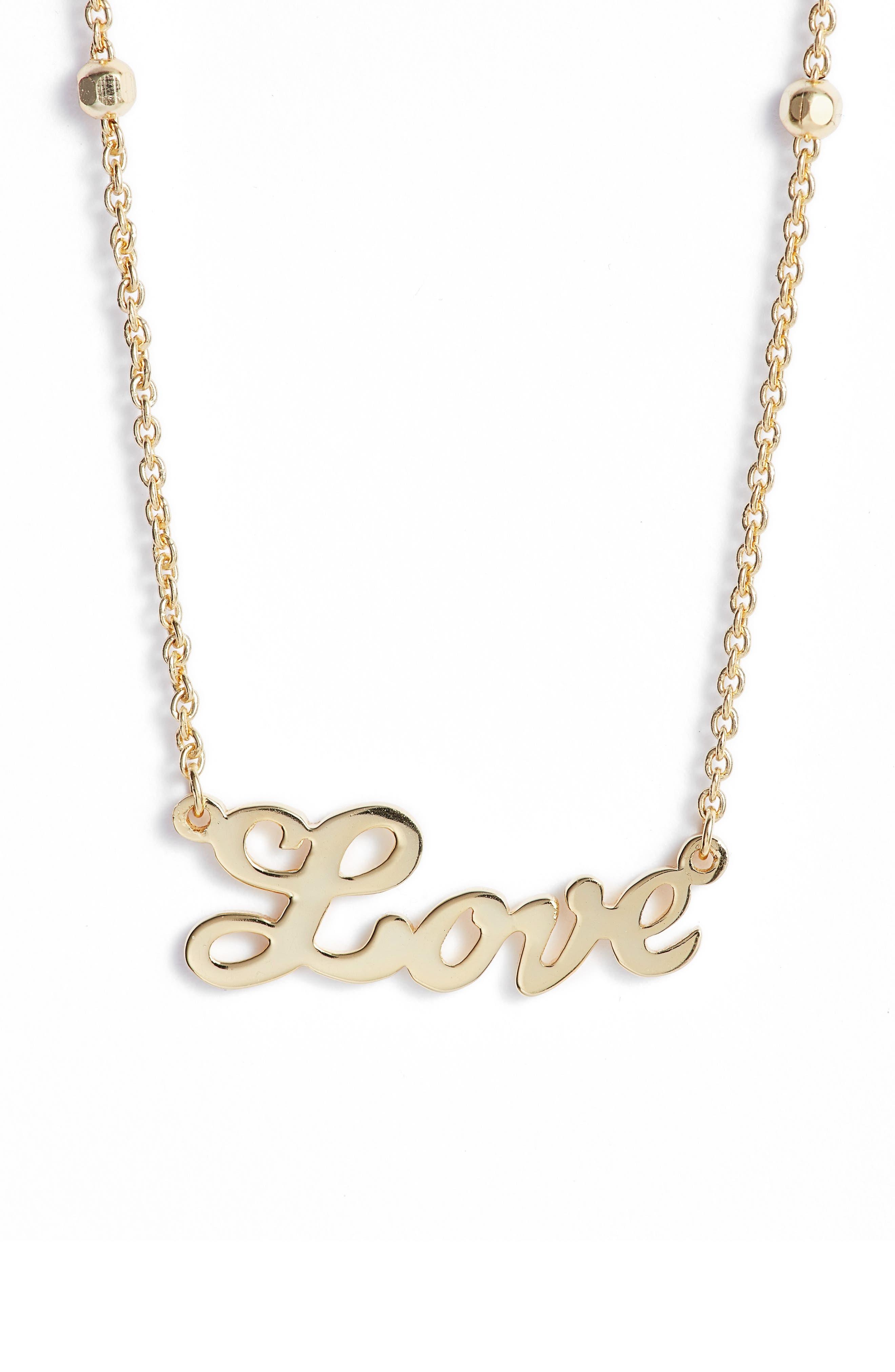 Love Pendant Necklace,                             Main thumbnail 3, color,