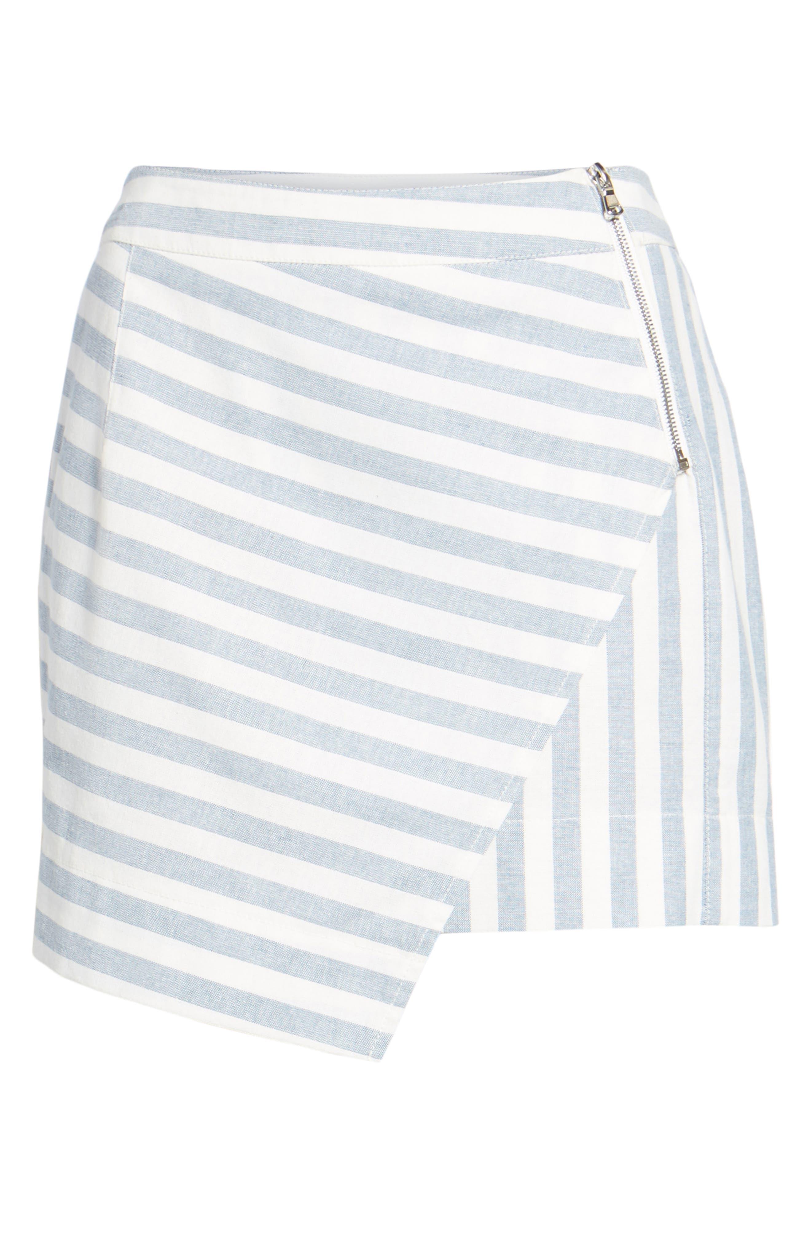 Gigi Wrap Skirt,                             Alternate thumbnail 6, color,