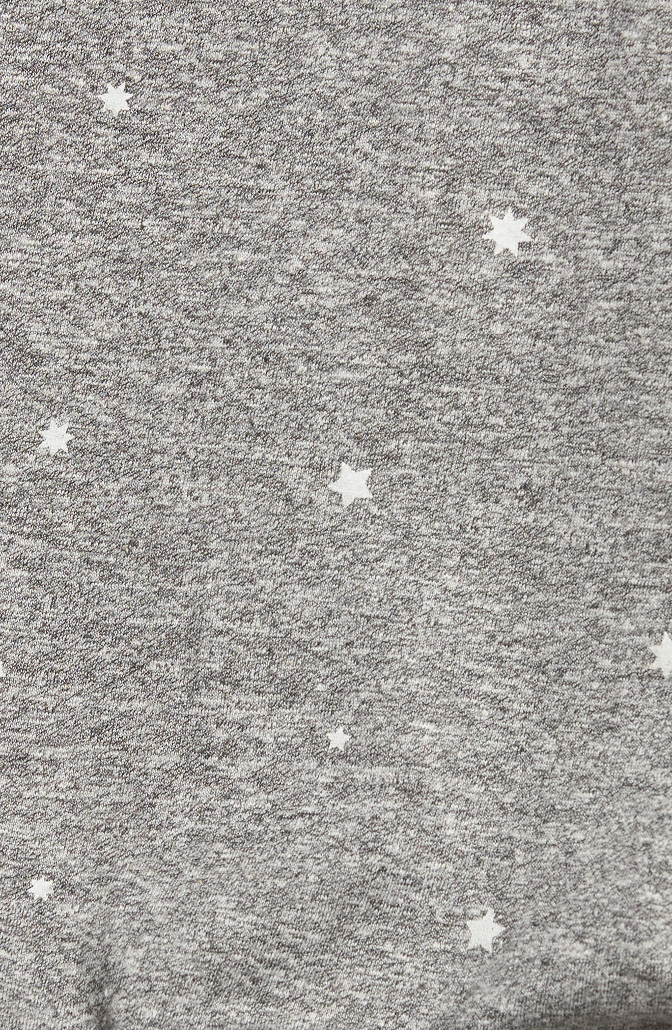 CURRENT/ELLIOTT,                             The Crewneck Star Print Tee,                             Alternate thumbnail 5, color,                             081