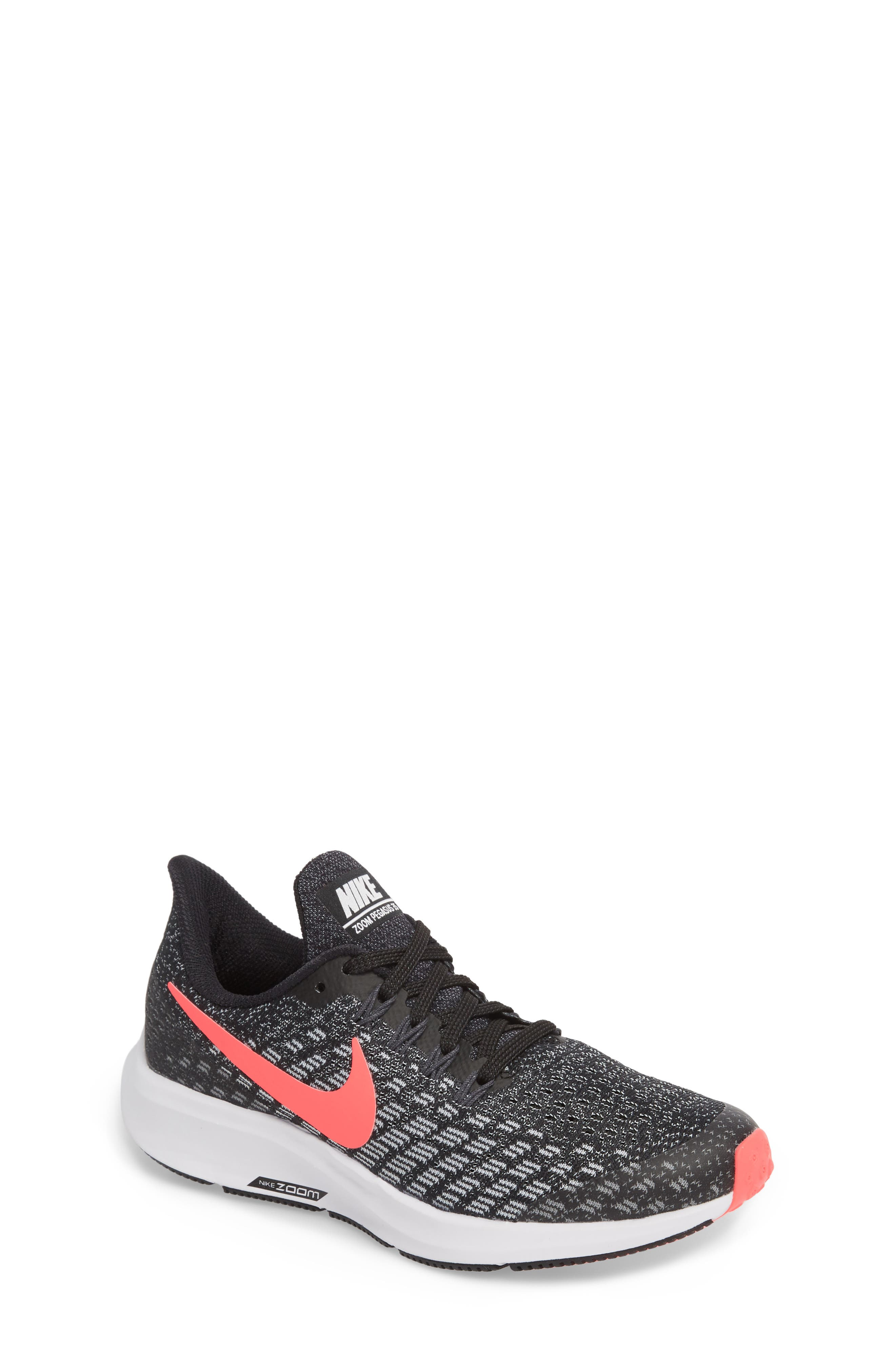 Air Zoom Pegasus 35 Sneaker,                         Main,                         color, RACER PINK/ WHITE/ ANTHRACITE