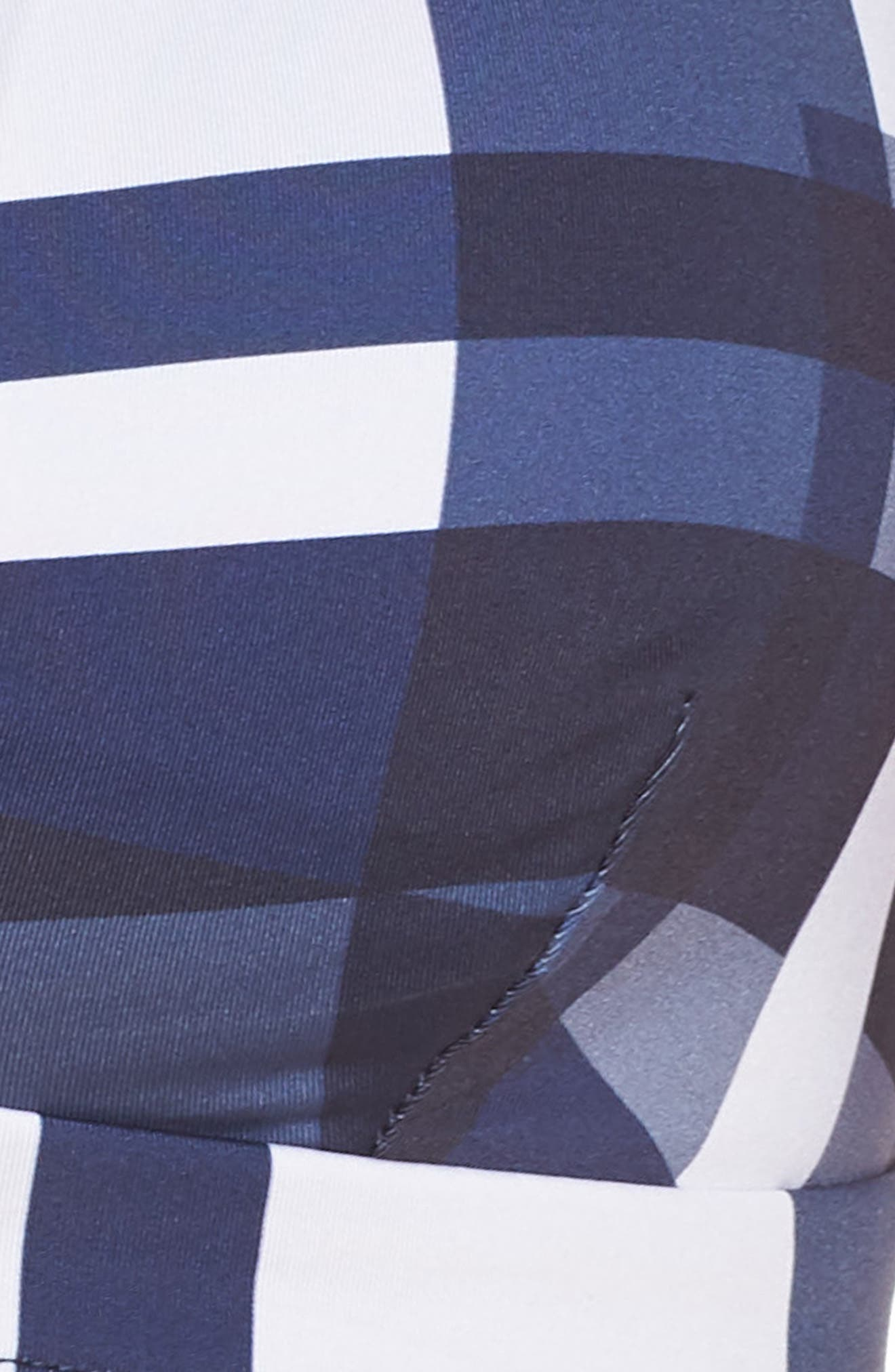 MEI LANGE,                             Mei L'ange Mila Bikini Top,                             Alternate thumbnail 5, color,                             BLUE-WHITE MOSAIC