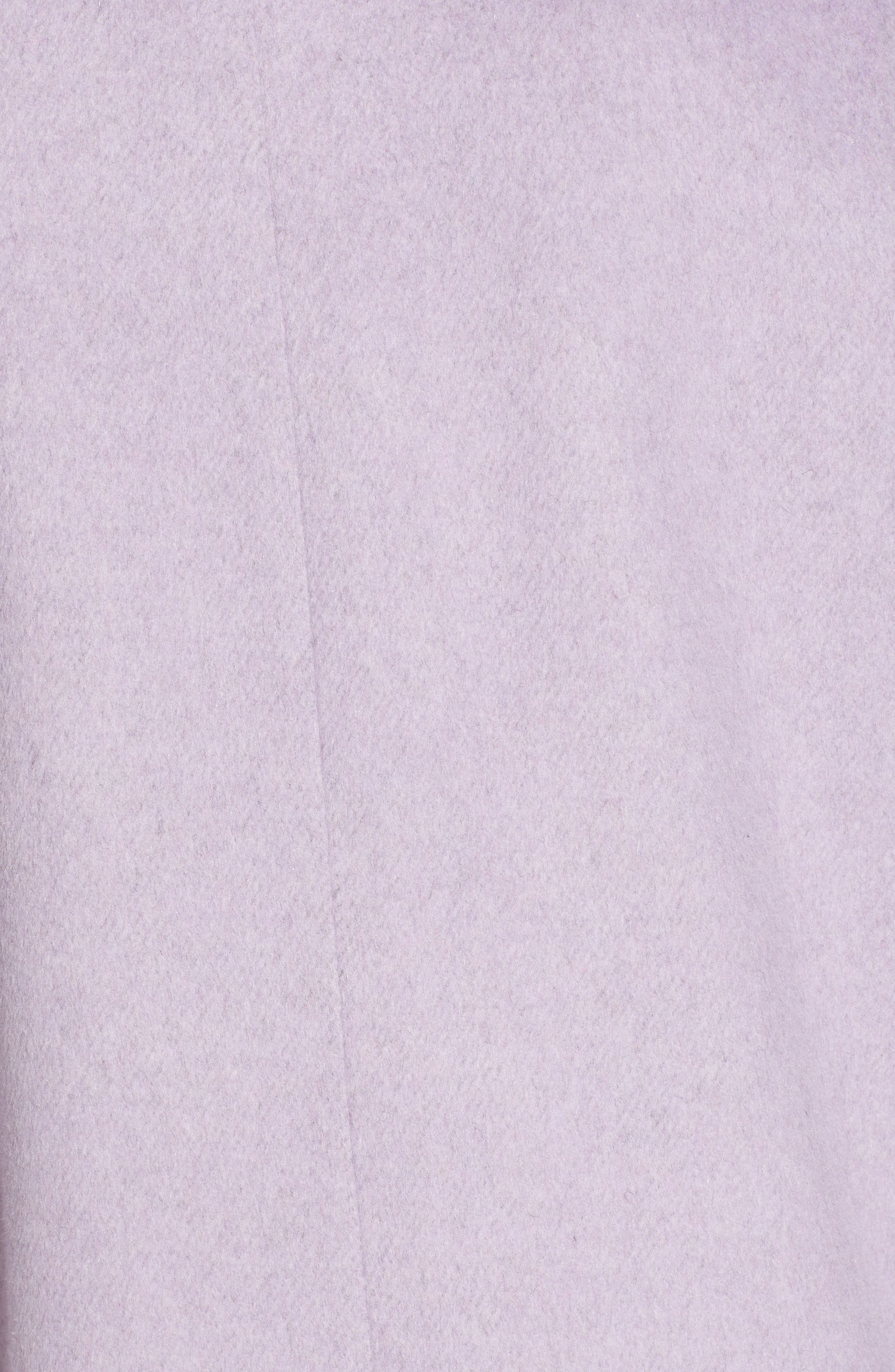 Ruth Knee Length Coat,                             Alternate thumbnail 7, color,                             500