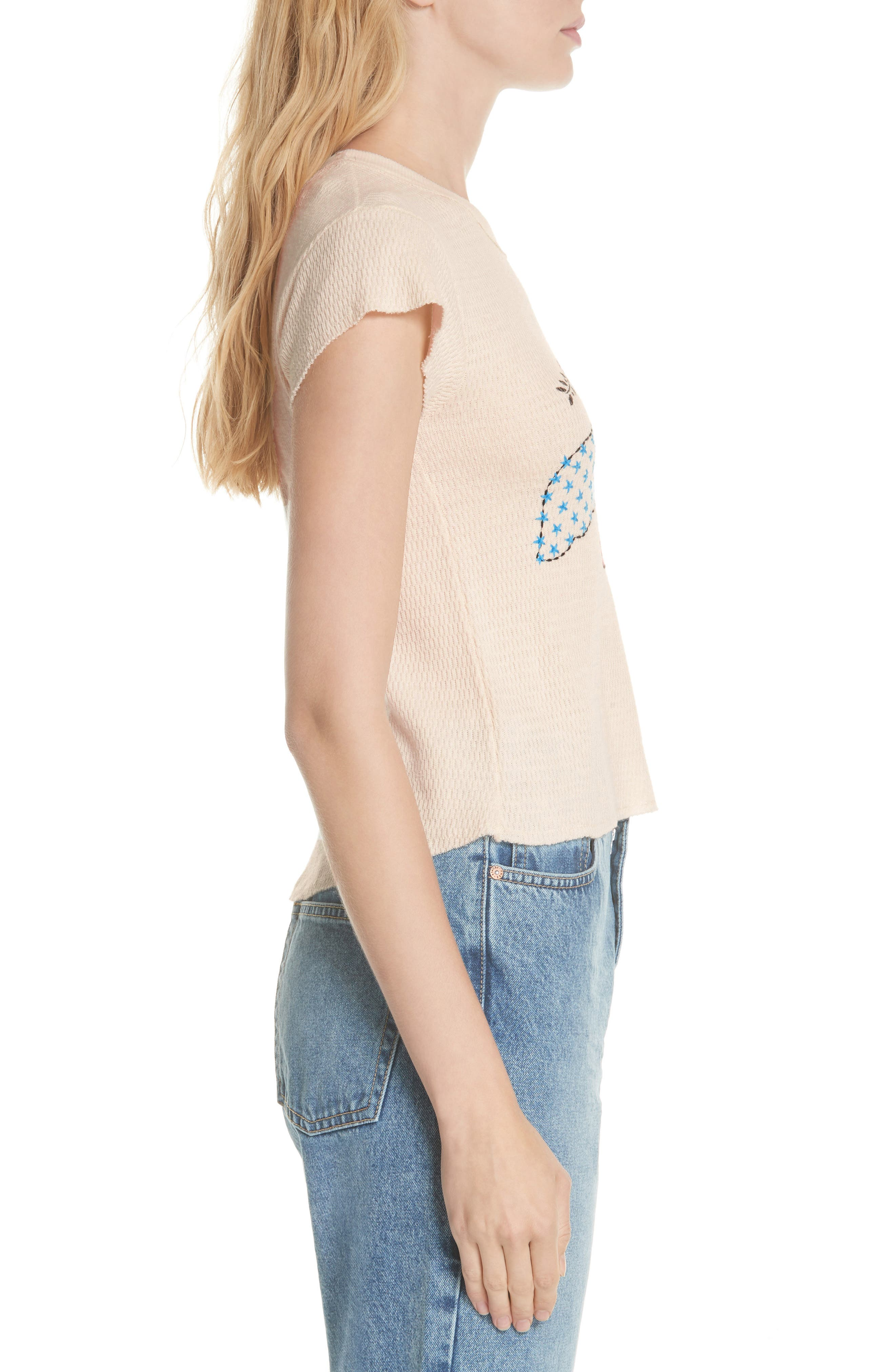 We the Free by Free People Love Dove Tee,                             Alternate thumbnail 3, color,                             903