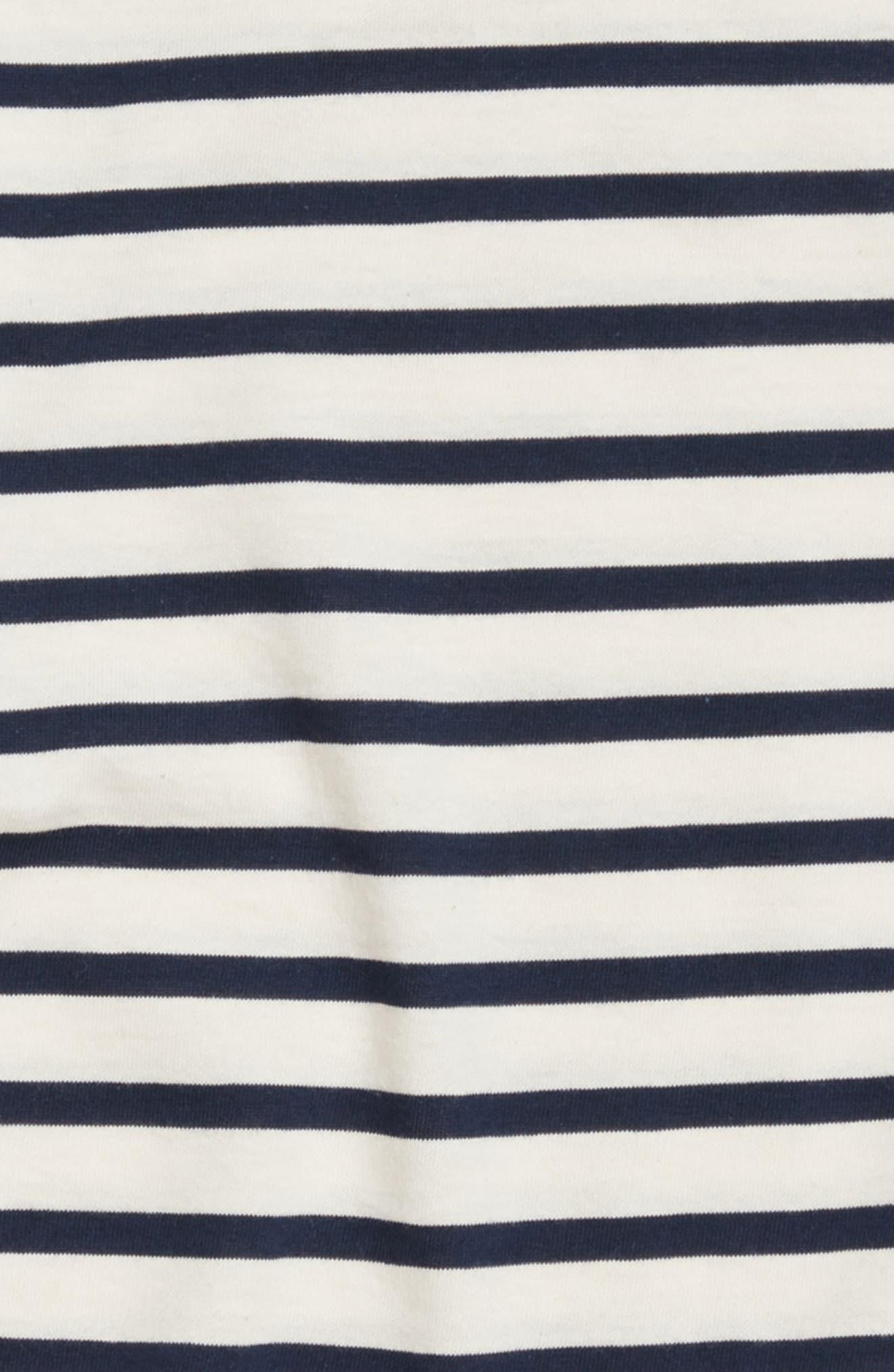 Minquiers Kids Striped Sailor Shirt,                             Alternate thumbnail 2, color,                             400