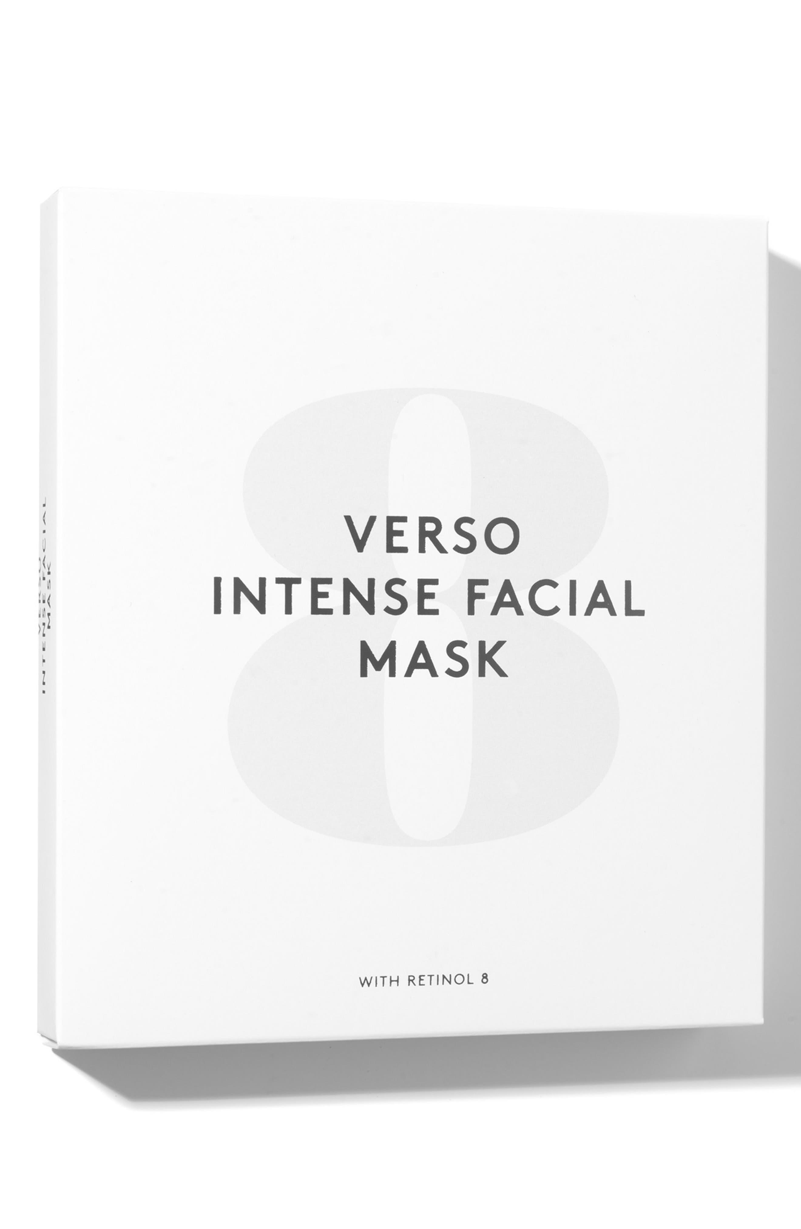 SPACE.NK.apothecary Verso Skincare Intense Facial Mask,                             Alternate thumbnail 2, color,                             000