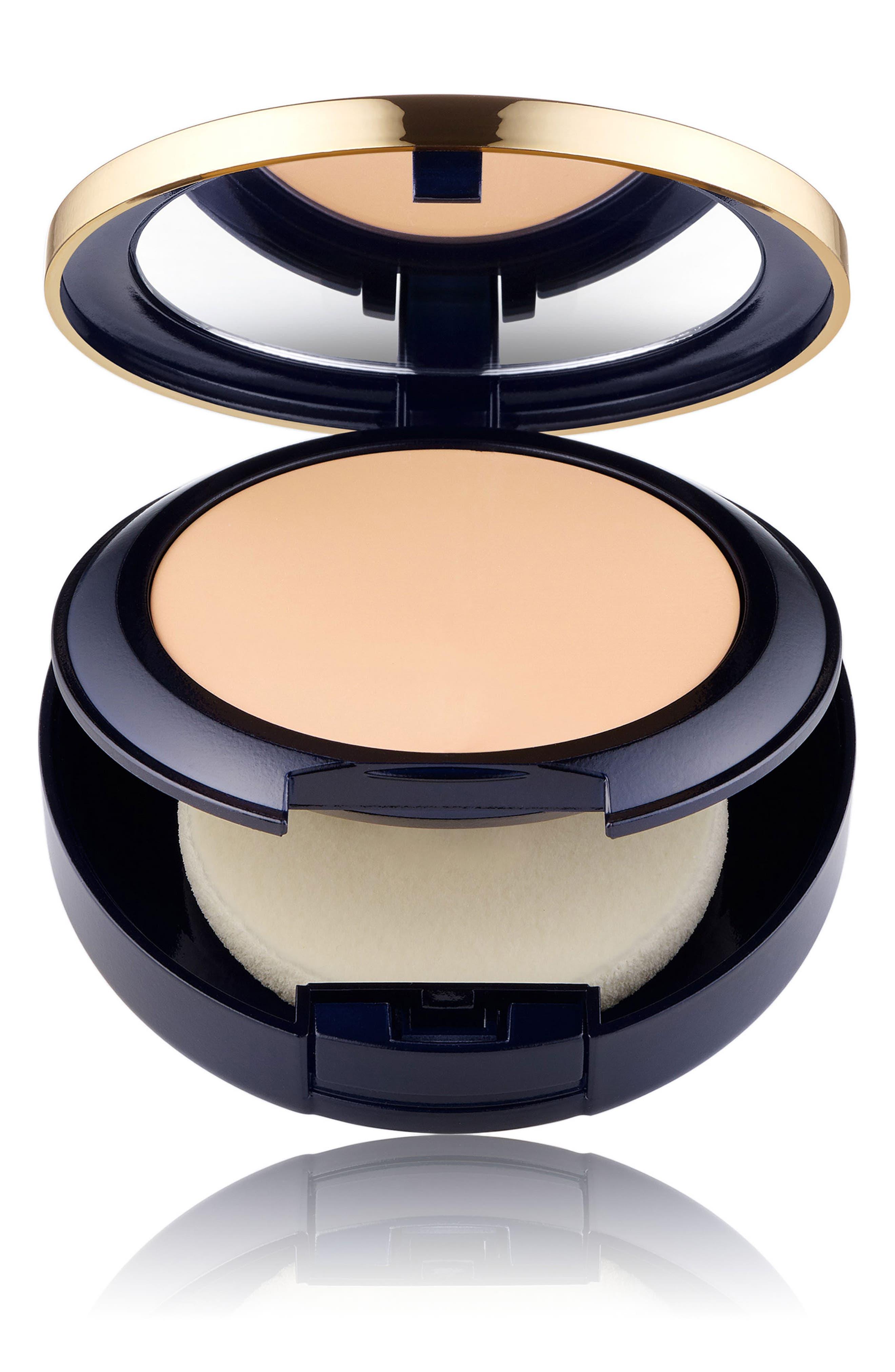 Estee Lauder Double Wear Stay In Place Matte Powder Foundation - 1C0 Shell