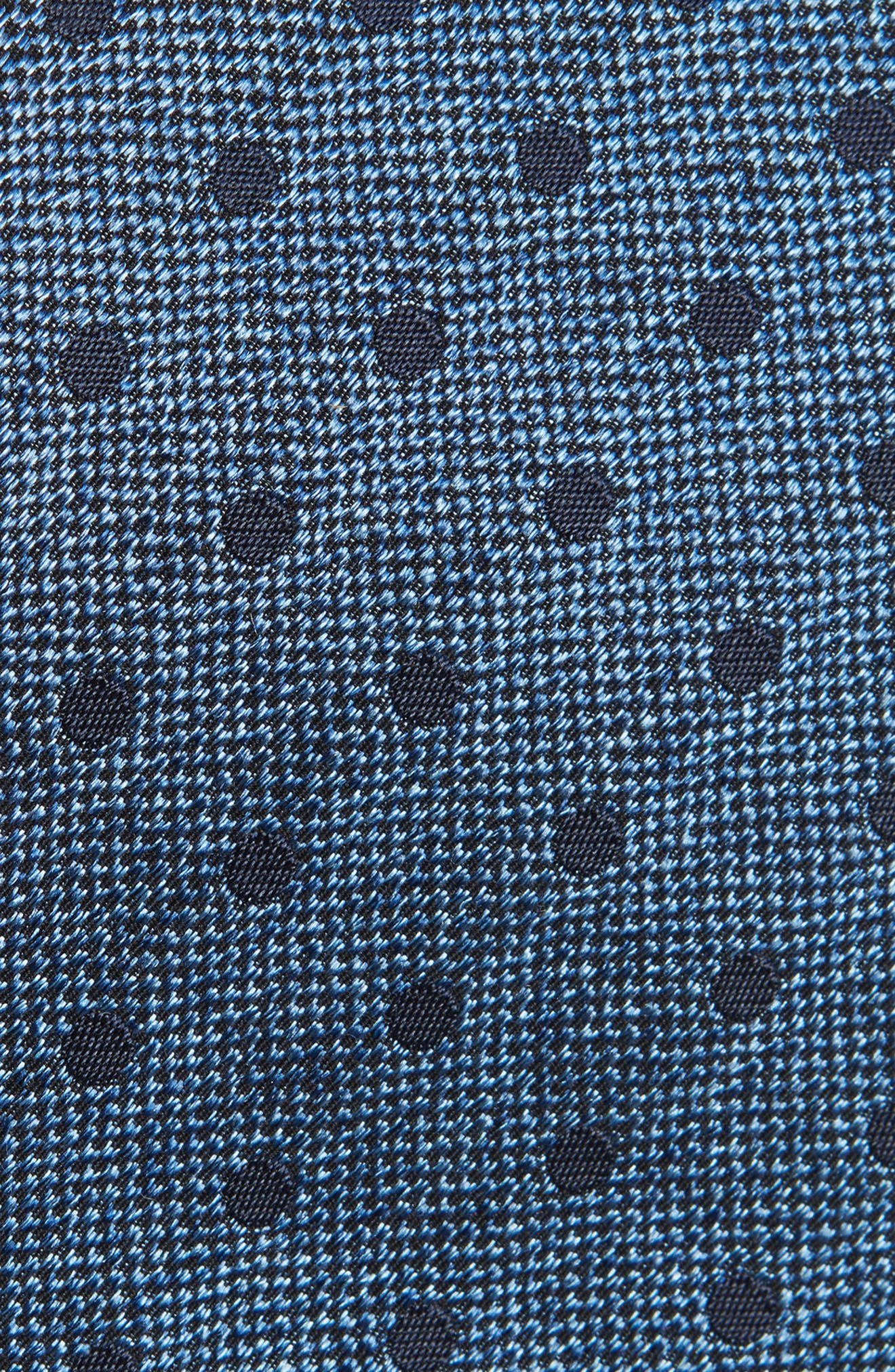Dot Silk Tie,                             Alternate thumbnail 2, color,                             423