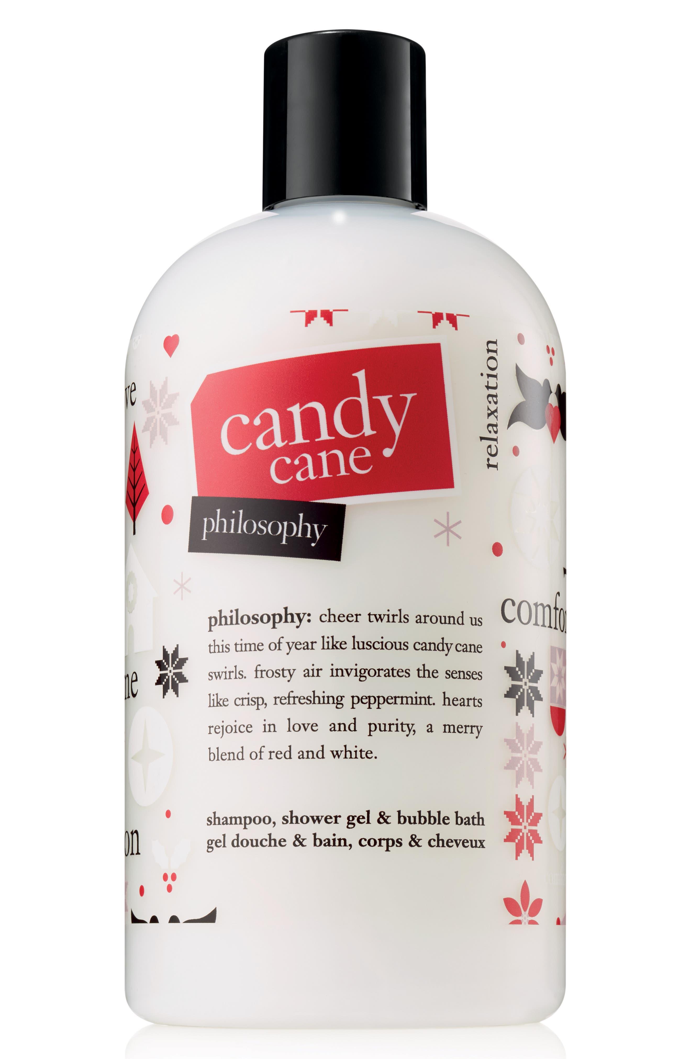 candy cane shampoo, shower gel & bubble bath,                             Main thumbnail 1, color,                             NO COLOR