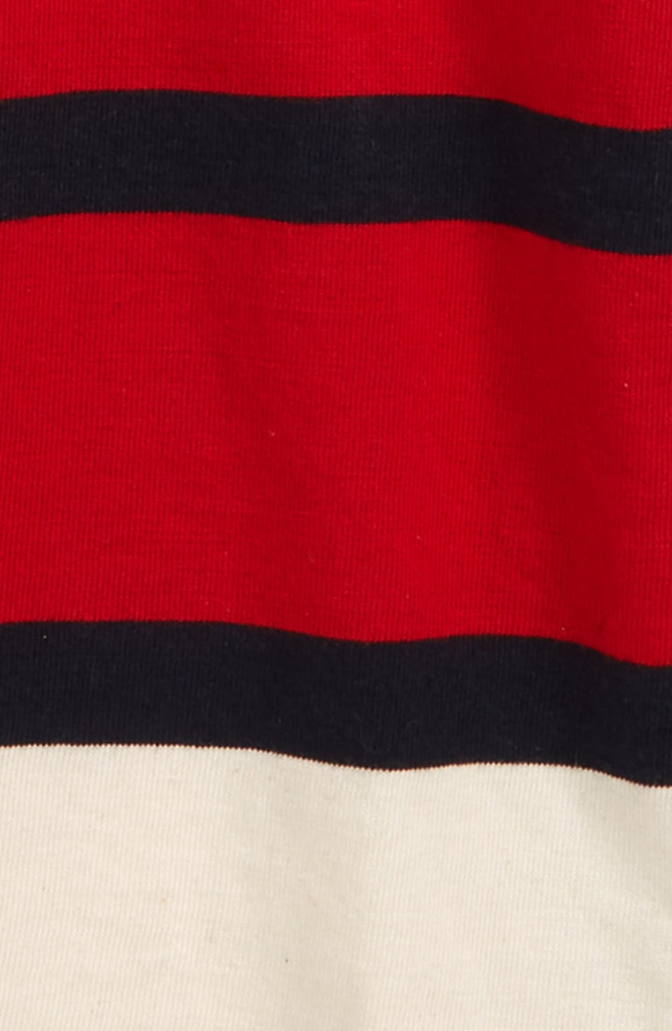 Rugby Stripe T-Shirt,                             Alternate thumbnail 2, color,                             410