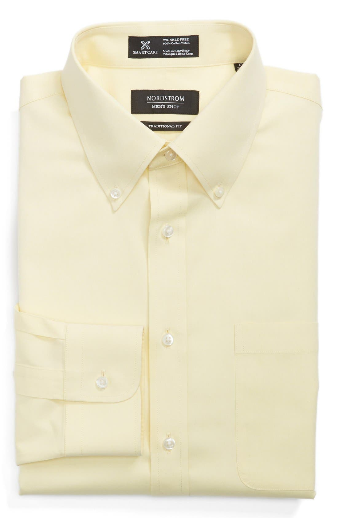 Smartcare<sup>™</sup> Traditional Fit Pinpoint Dress Shirt,                             Main thumbnail 41, color,