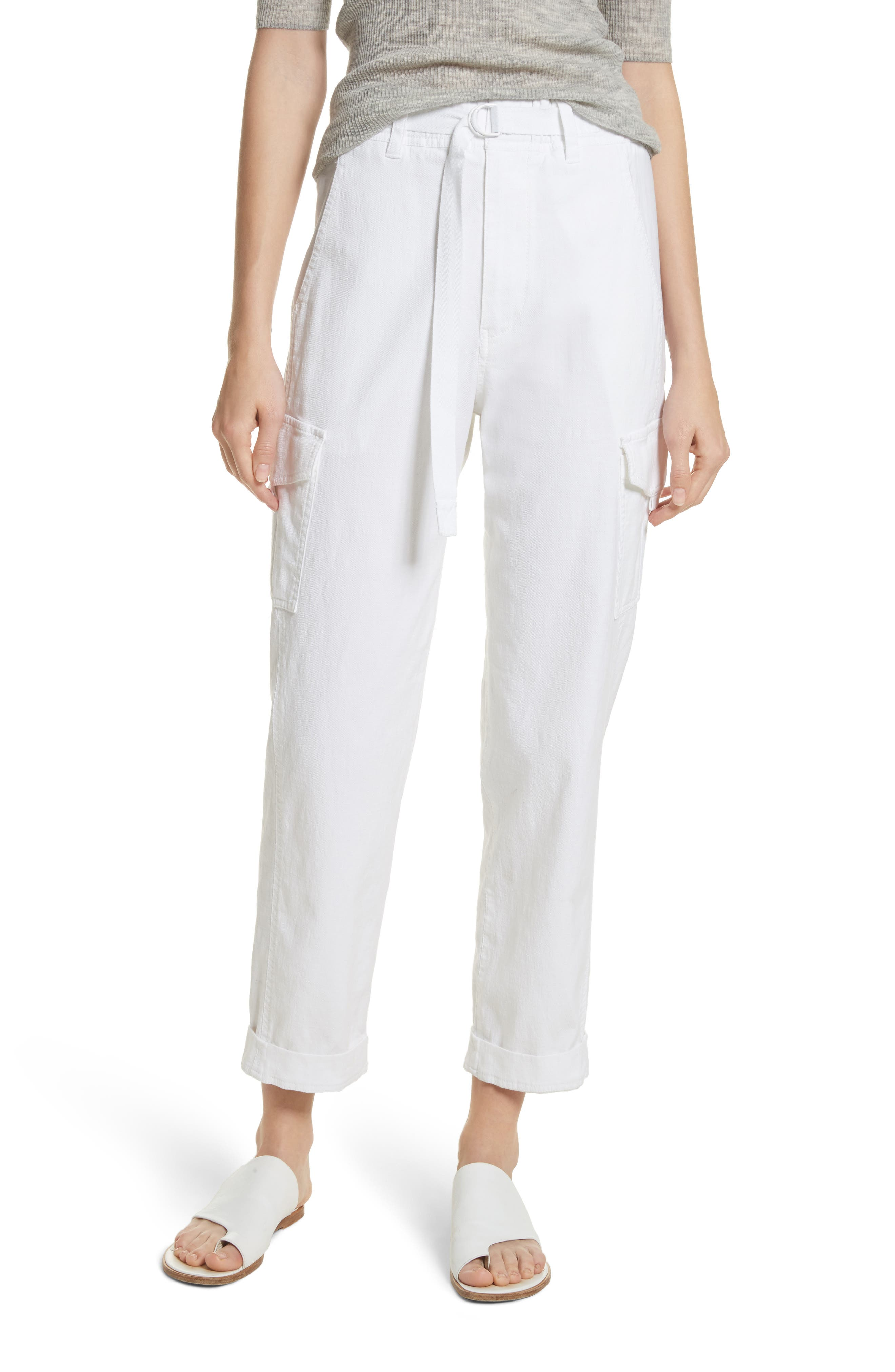 Tapered Utility Stretch Cotton Pants,                         Main,                         color, 137