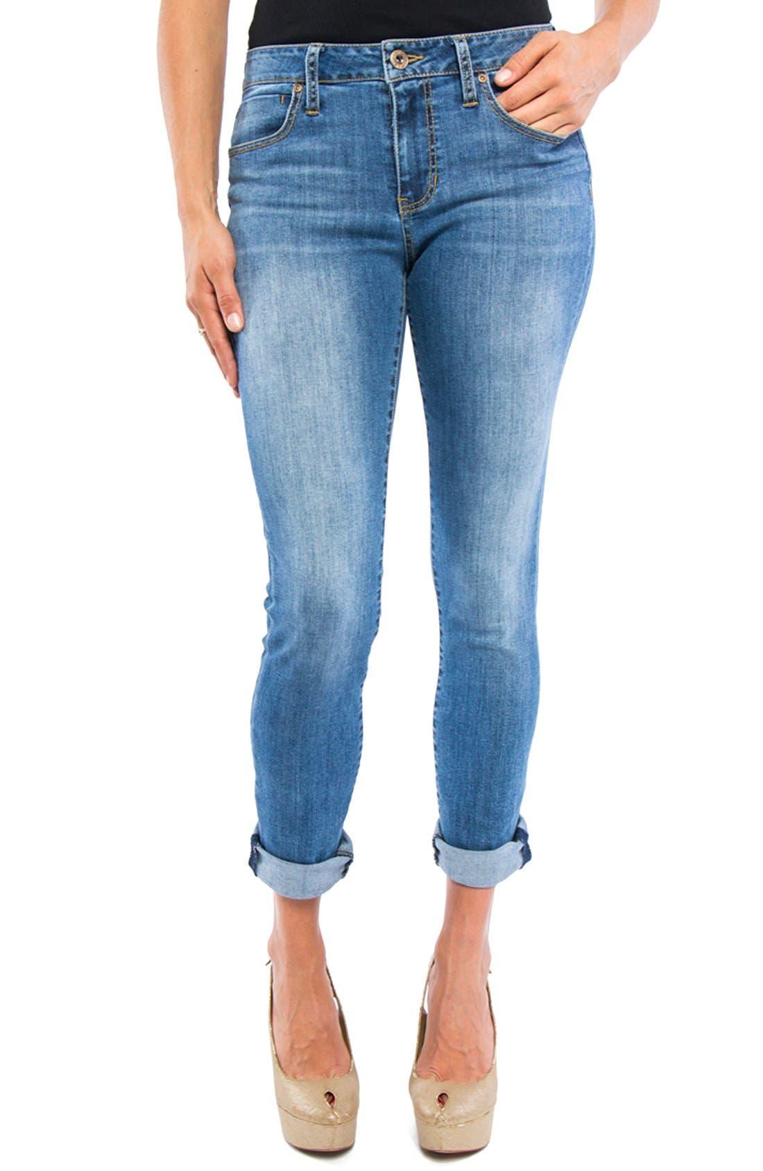 Peyton Slim Boyfriend Jeans,                             Main thumbnail 1, color,