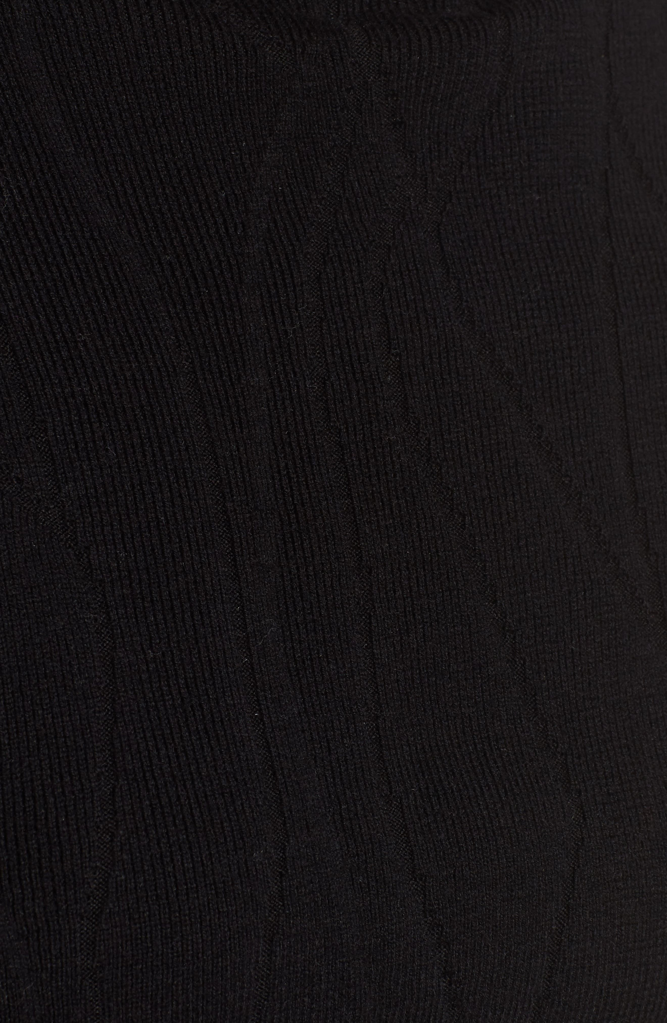Artisanal Crackle Jacquard Sweater,                             Alternate thumbnail 5, color,                             004
