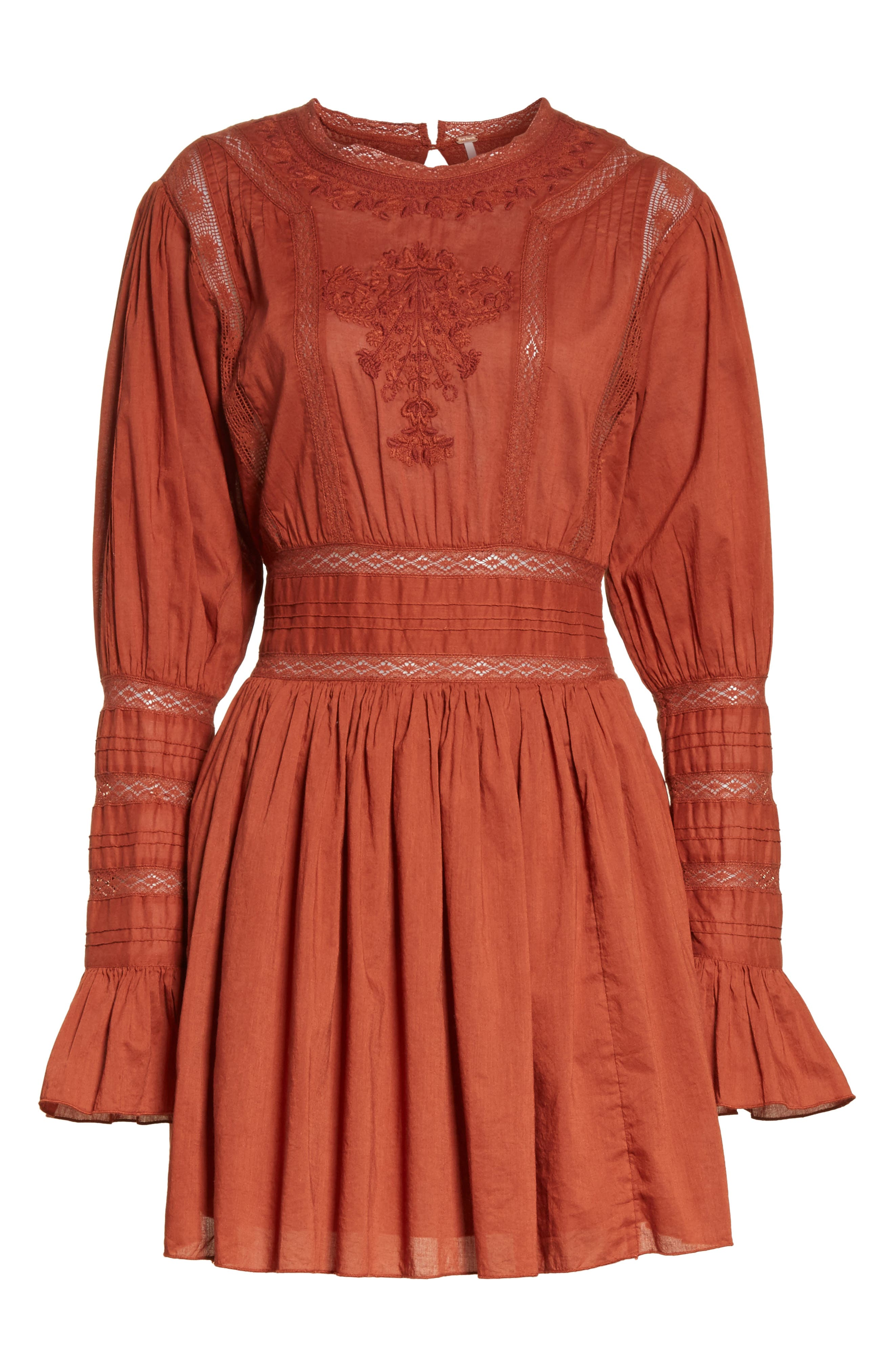 Victorian Minidress,                             Alternate thumbnail 7, color,                             625