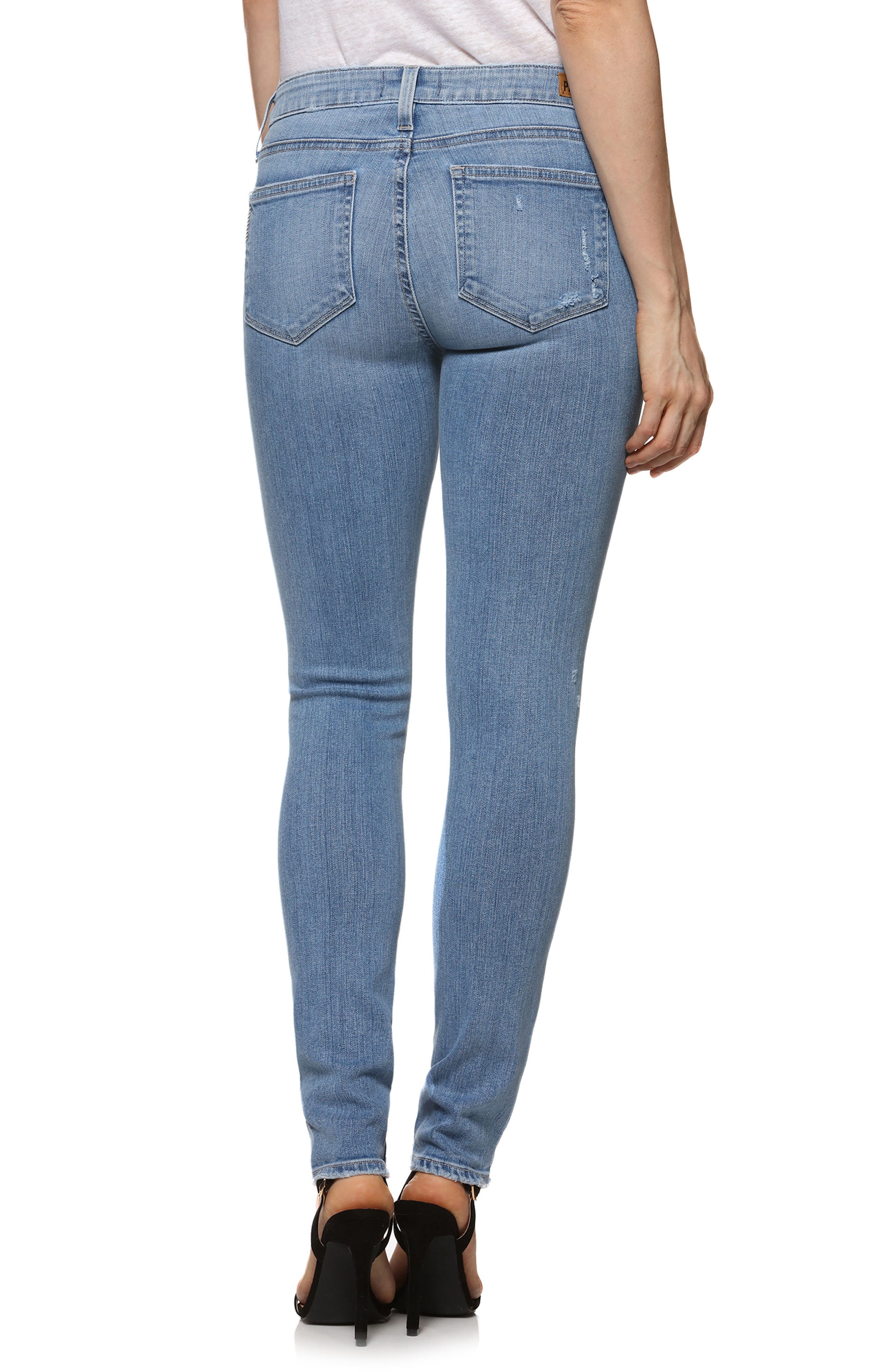 Skyline Ankle Skinny Jeans,                             Alternate thumbnail 2, color,                             400