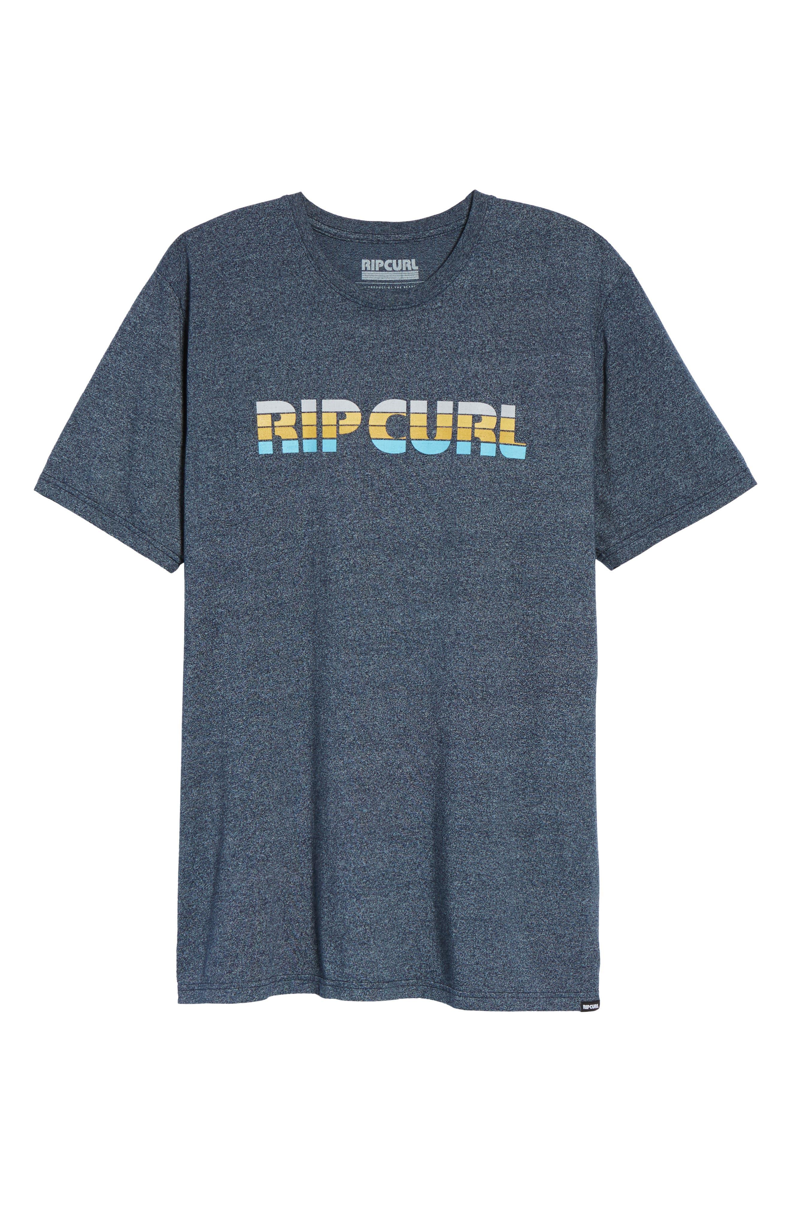 Pumped Mock Twist Graphic T-Shirt,                             Alternate thumbnail 6, color,                             410