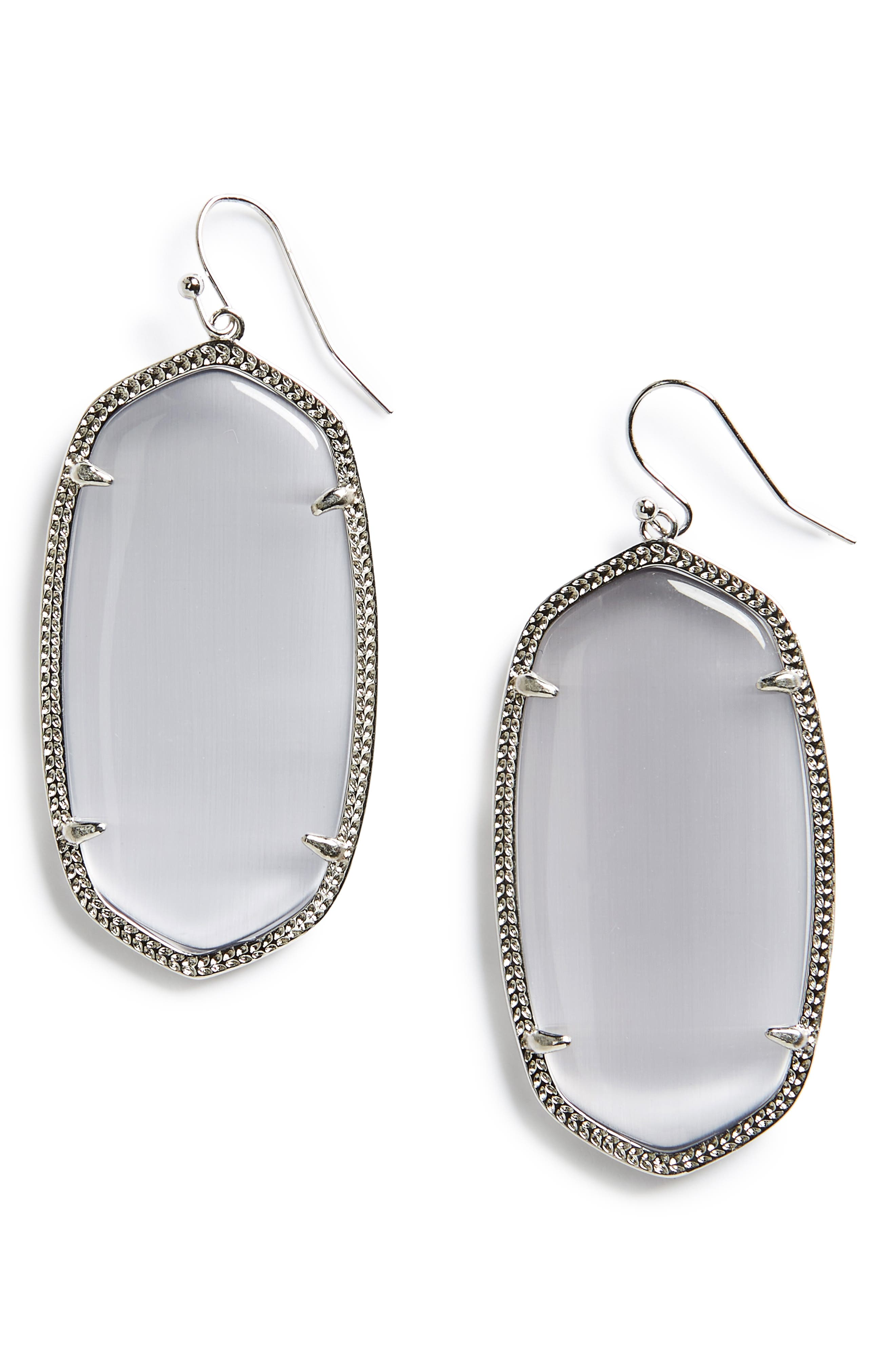 Danielle - Large Oval Statement Earrings,                             Alternate thumbnail 95, color,