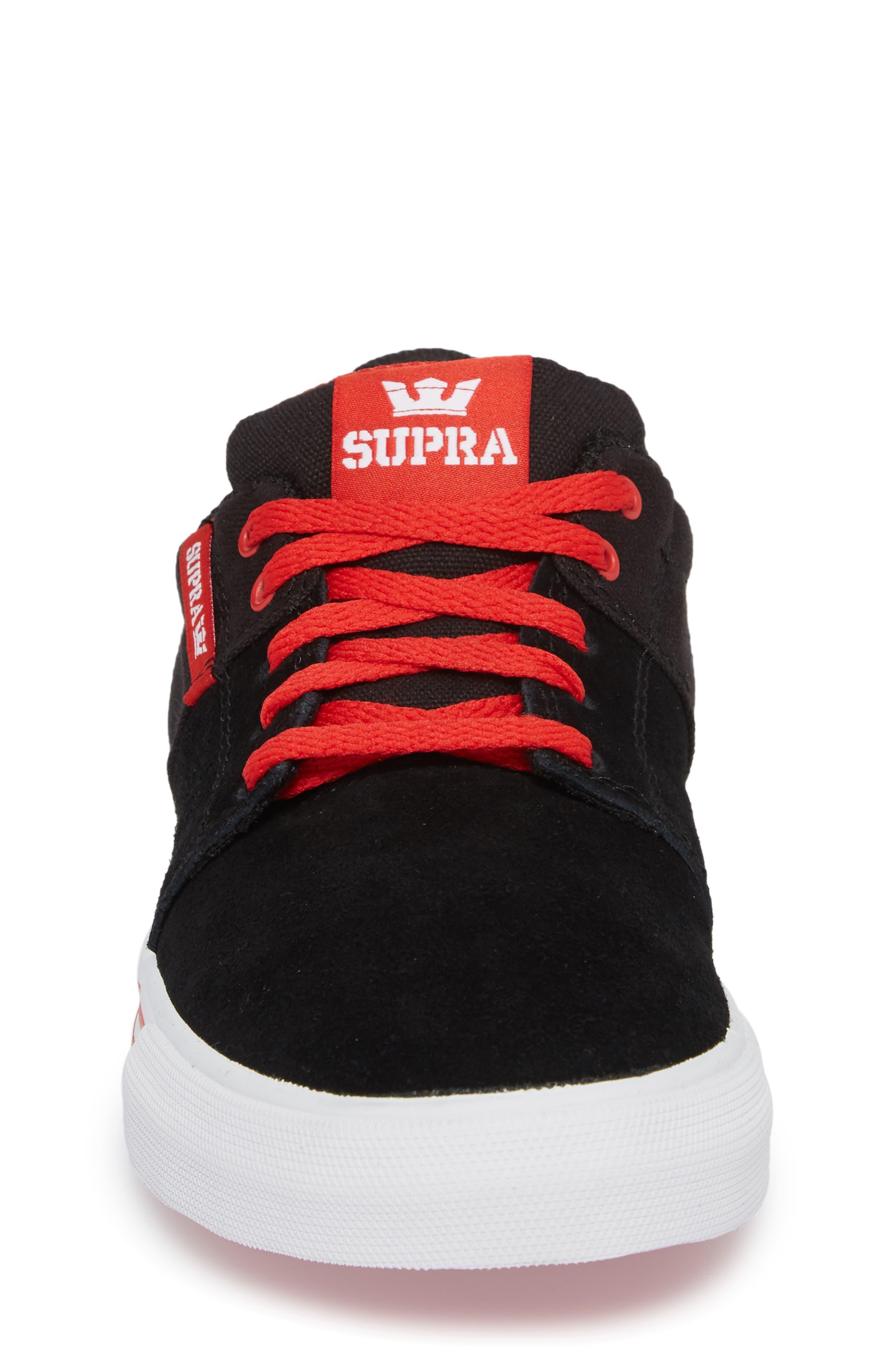'Stacks Vulc II' Low Top Sneaker,                             Alternate thumbnail 4, color,                             002