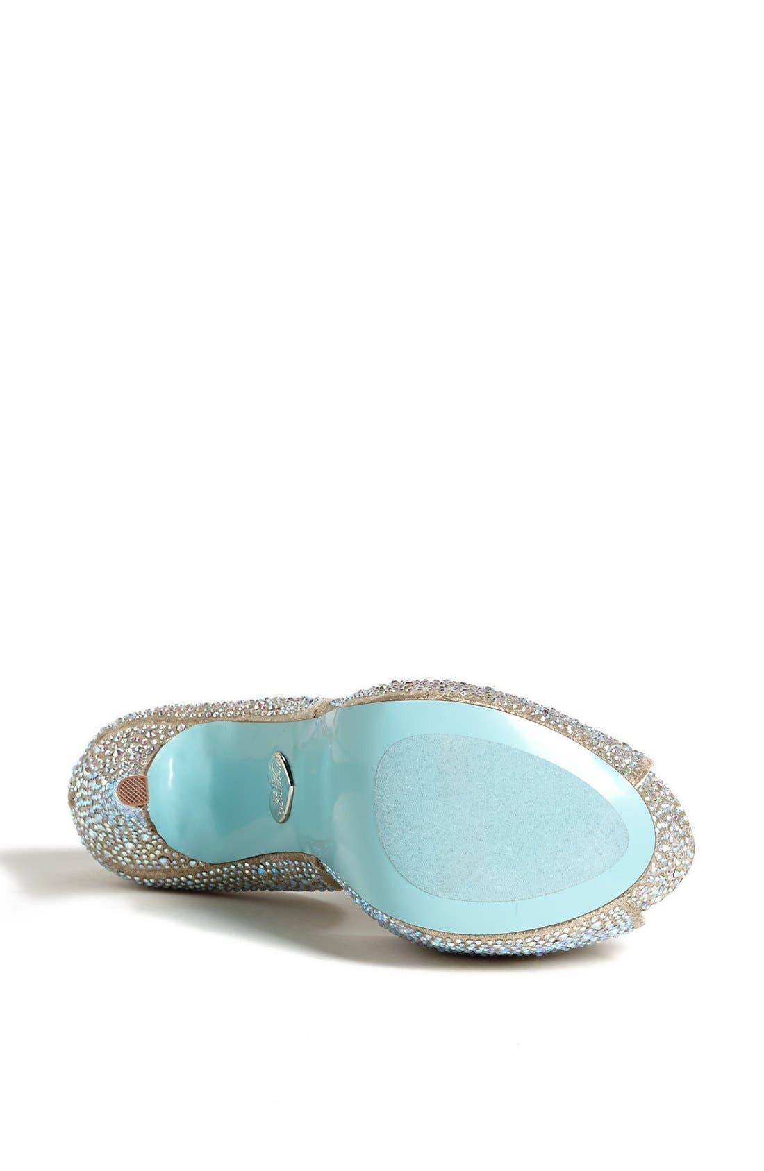 BETSEY JOHNSON,                             Blue by Betsey Johnson 'SB-Kiss' Sandal,                             Alternate thumbnail 3, color,                             710