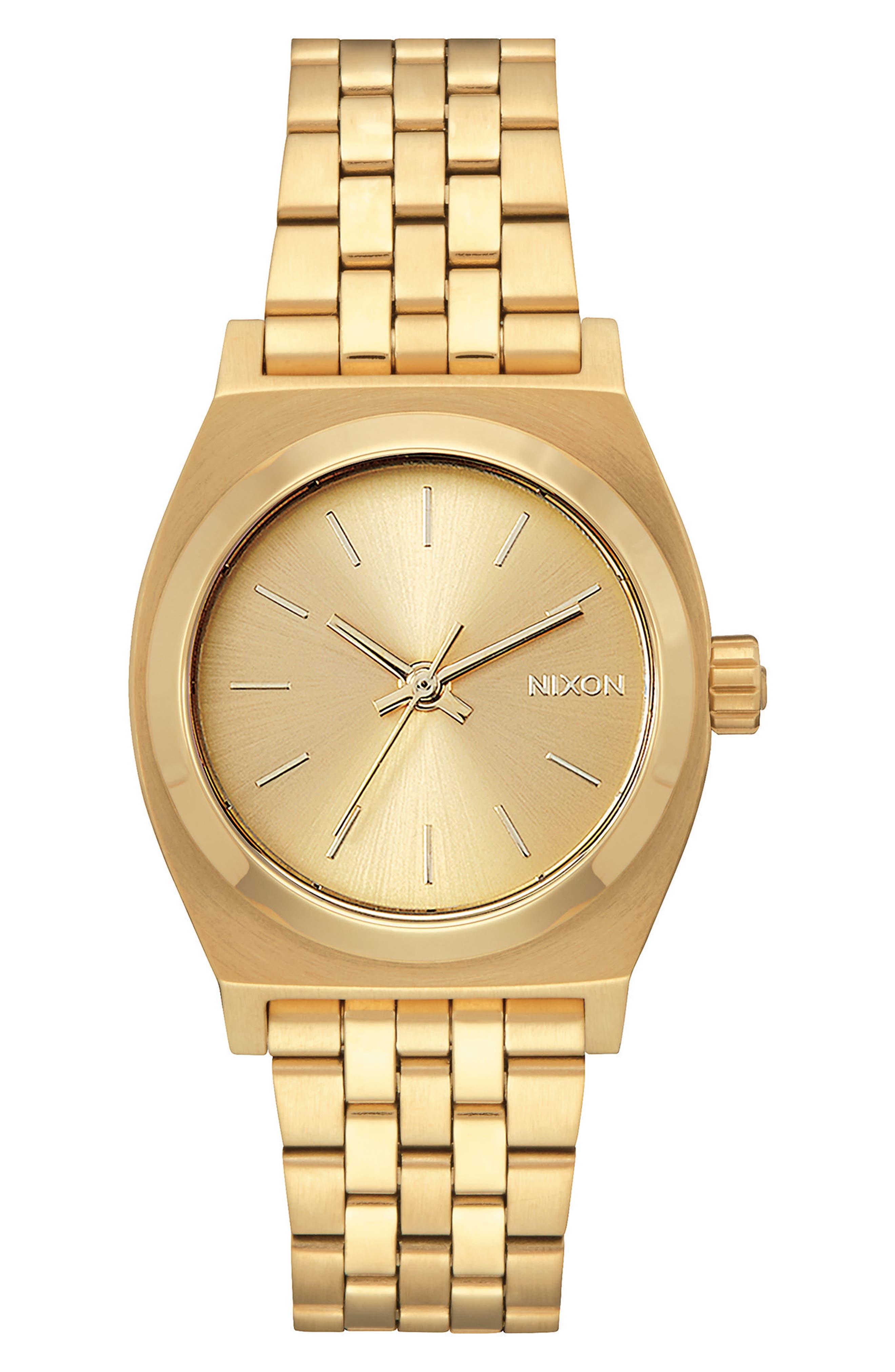 Time Teller Bracelet Watch, 31mm,                         Main,                         color, GOLD