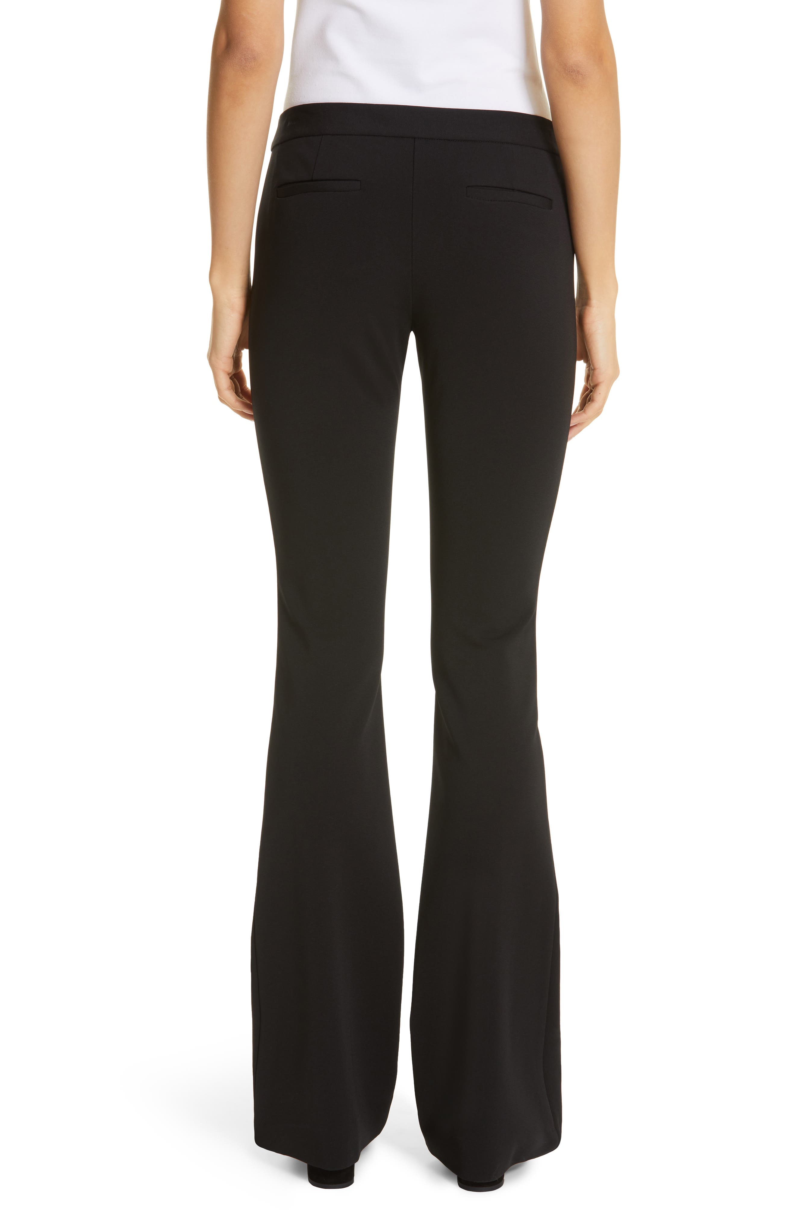 LAFAYETTE 148 NEW YORK,                             Waldorf Flare Pants,                             Alternate thumbnail 2, color,                             BLACK
