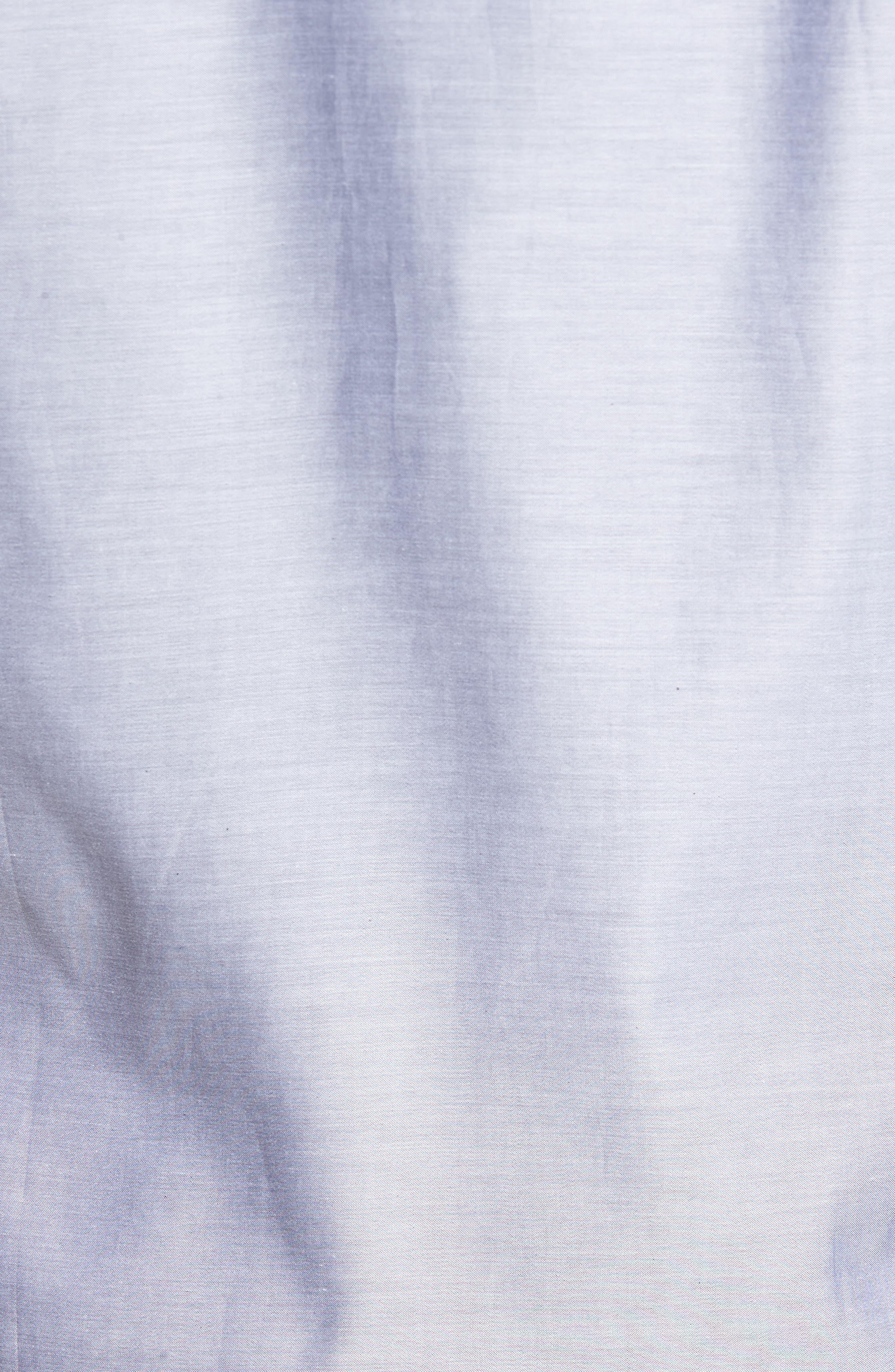 Trim Fit Solid Sport Shirt,                             Alternate thumbnail 5, color,                             020