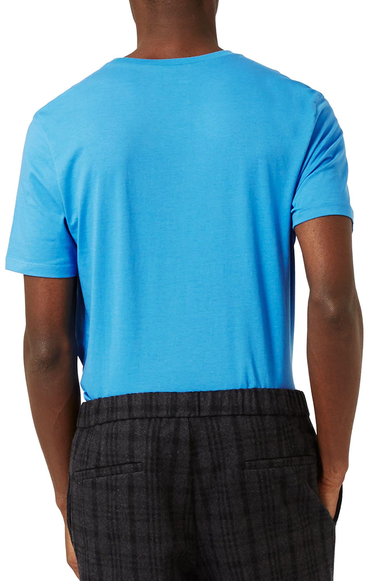 Slim Fit Crewneck T-Shirt,                             Alternate thumbnail 156, color,