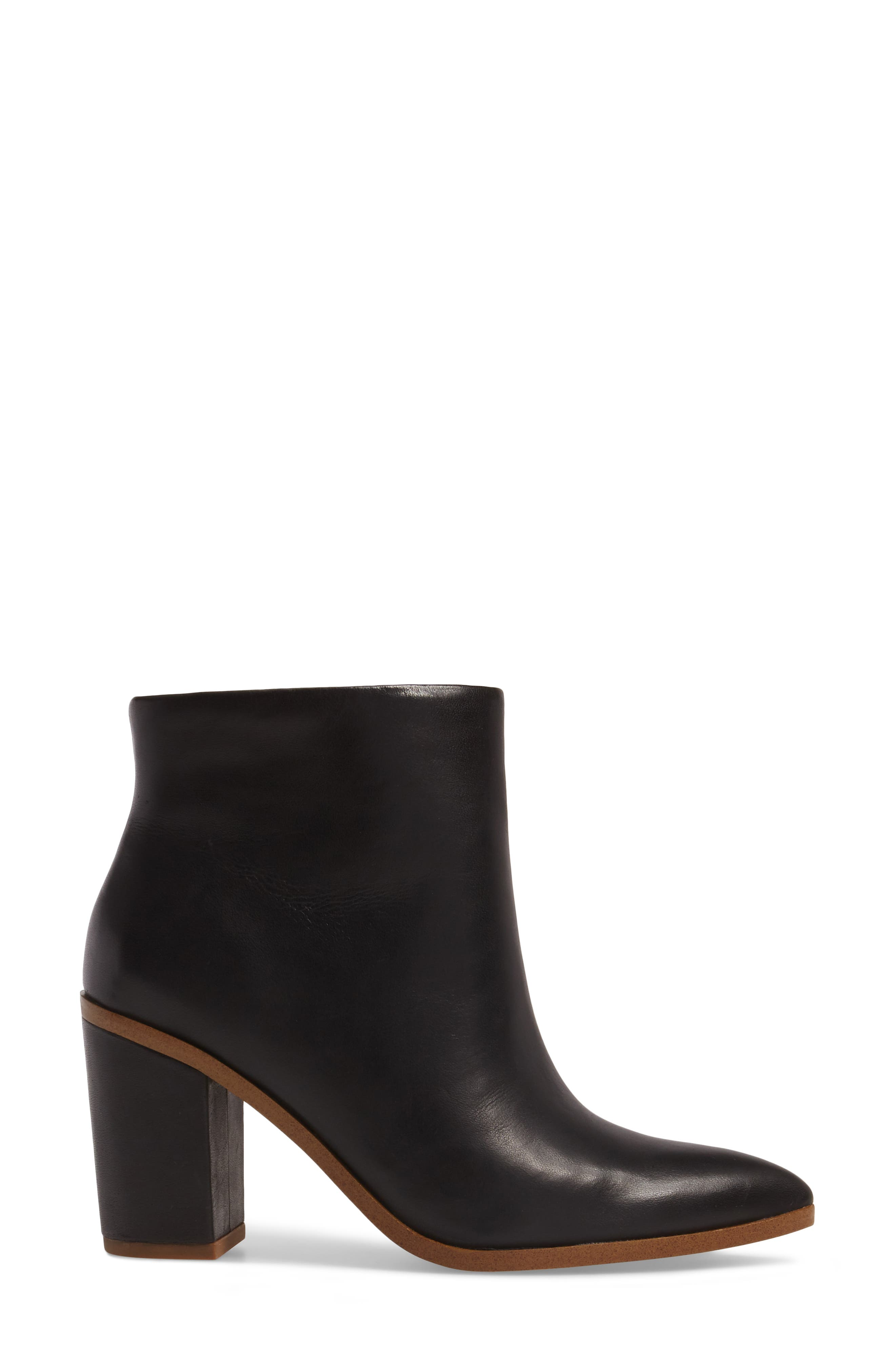 Paven Pointy Toe Bootie,                             Alternate thumbnail 3, color,                             001