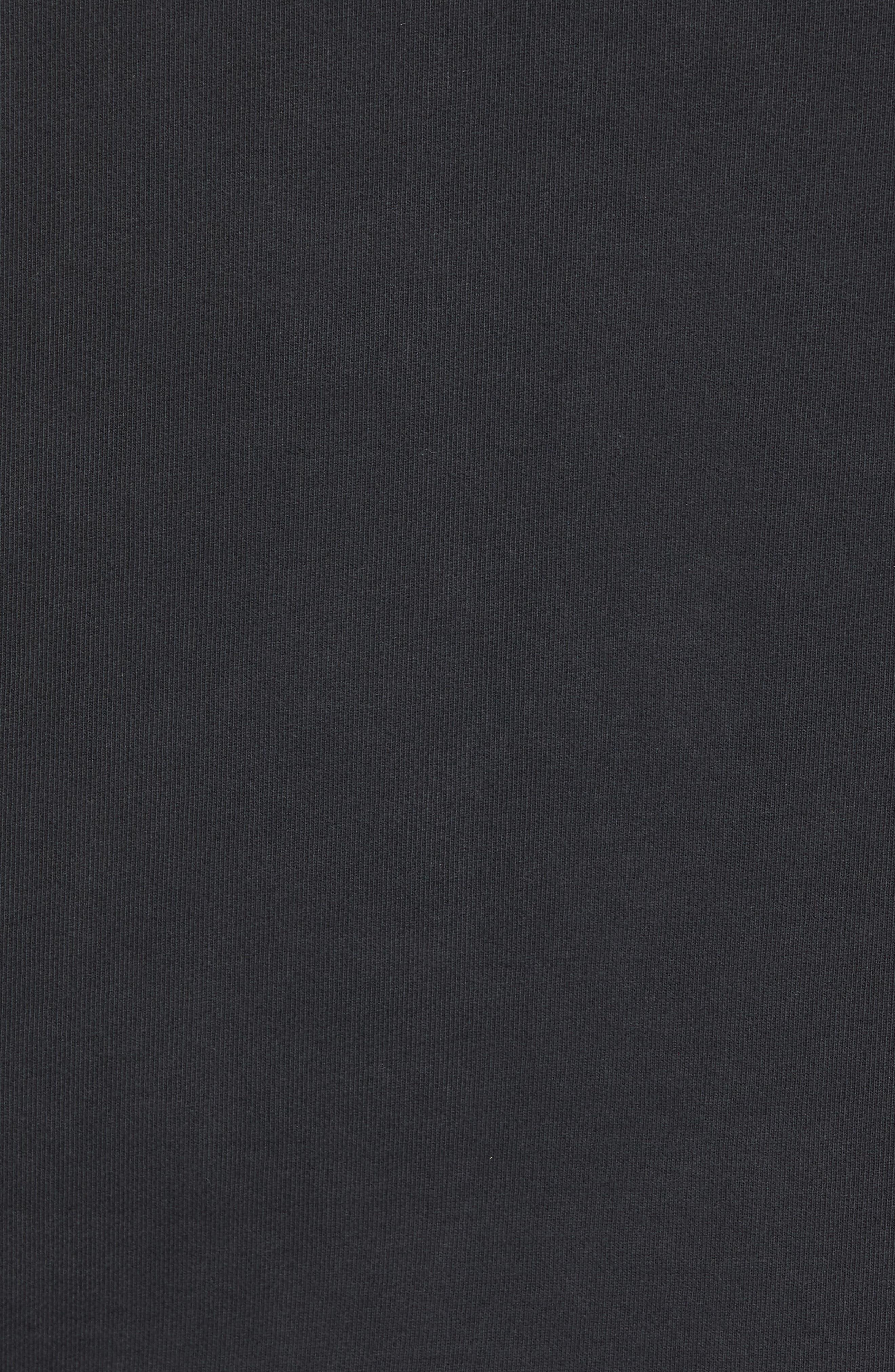 John Varvatos x Nick Jonas Rock City Hoodie,                             Alternate thumbnail 5, color,                             BLACK