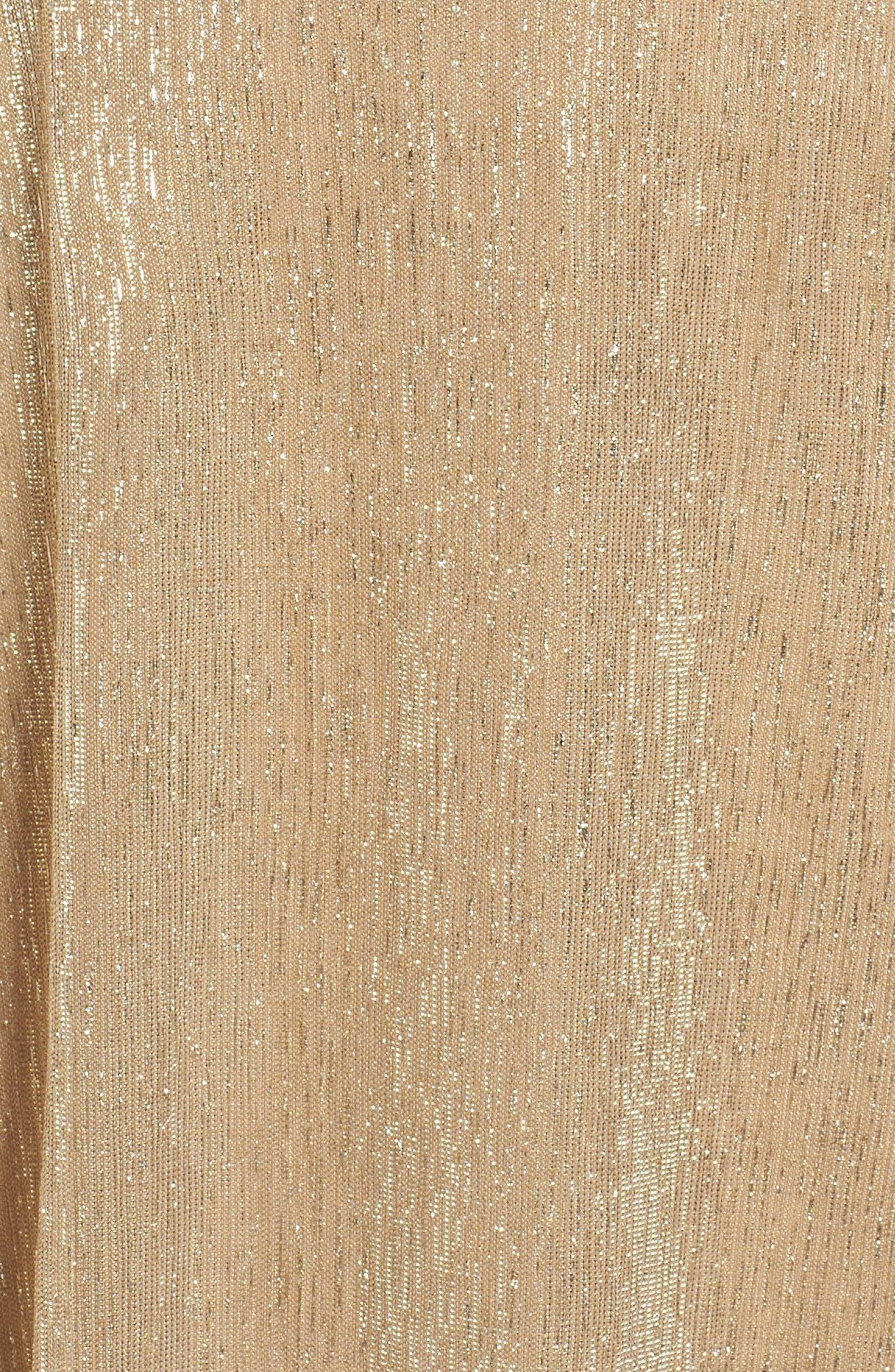 Cold Shoulder Gown,                             Alternate thumbnail 5, color,                             710